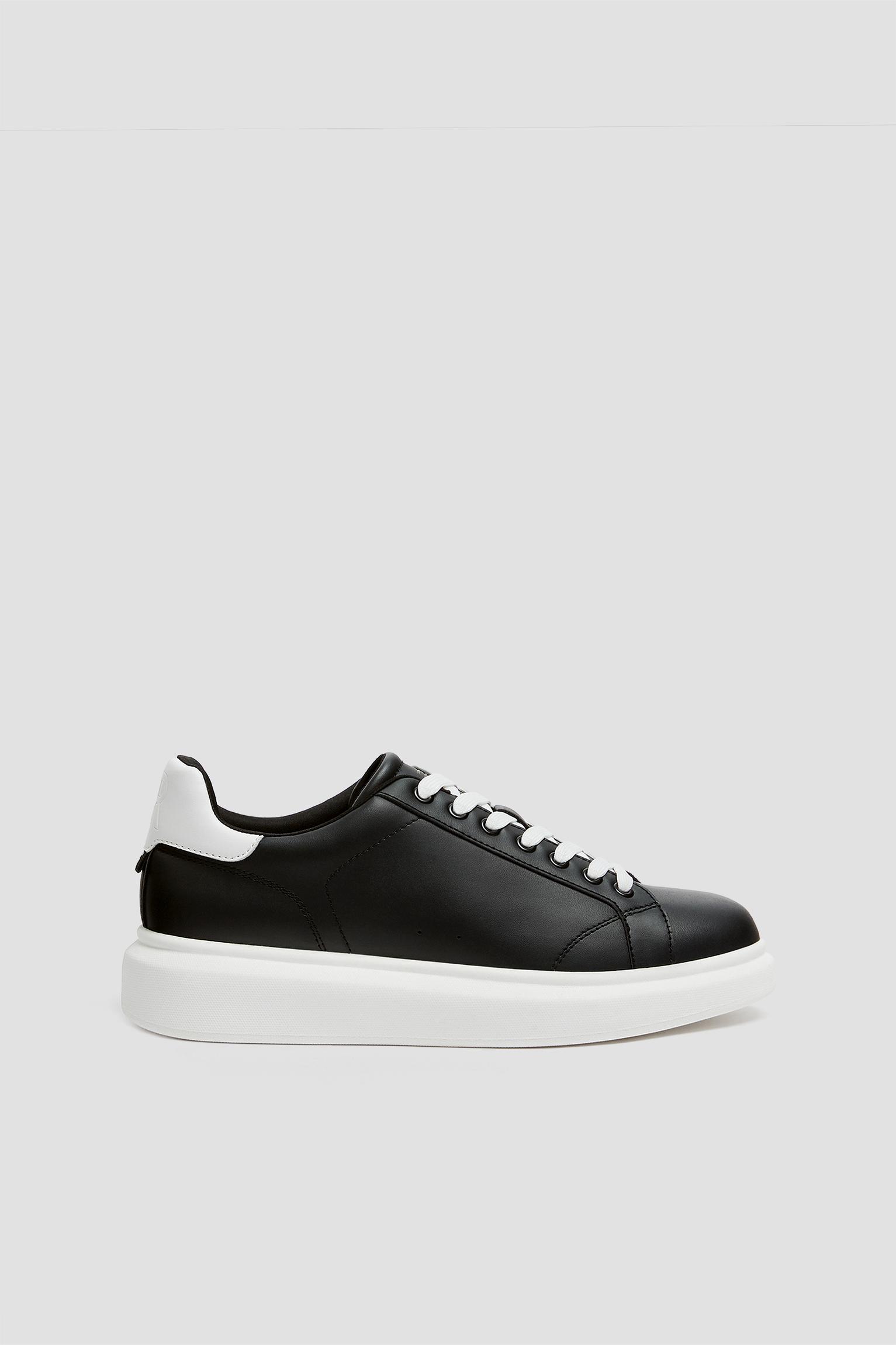 Black chunky sole trainers - PULL\u0026BEAR