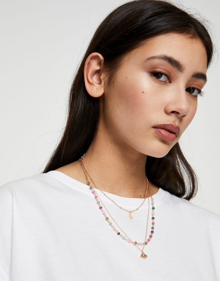 Pack tres collares de Pull&Bear