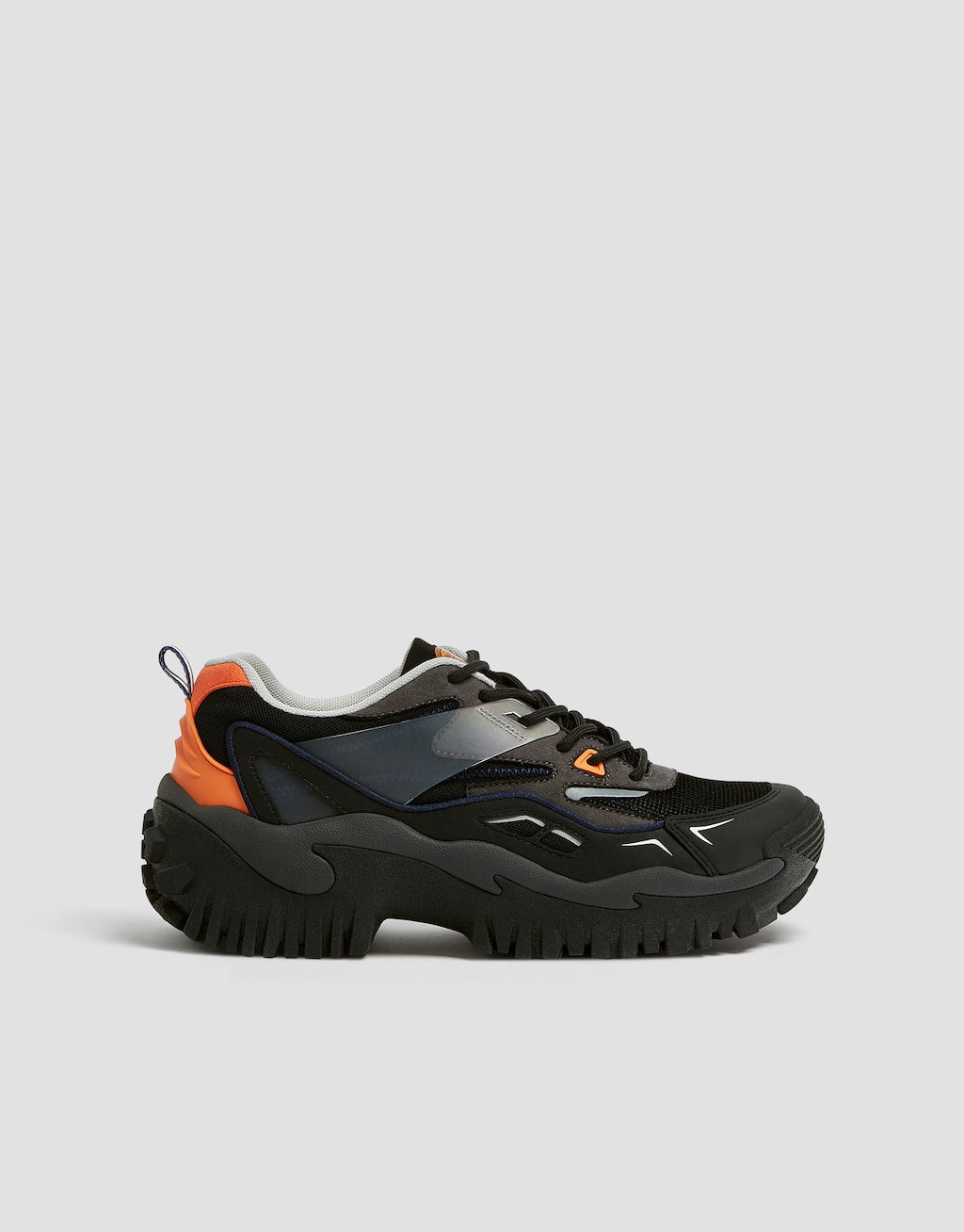 Hiking Shoes With Side Trim Detail by Pull & Bear
