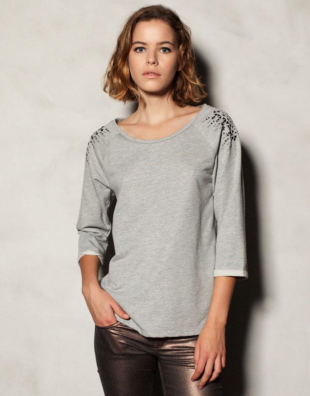 Γυναικεία Ρούχα PULL & BEAR Μπλούζα