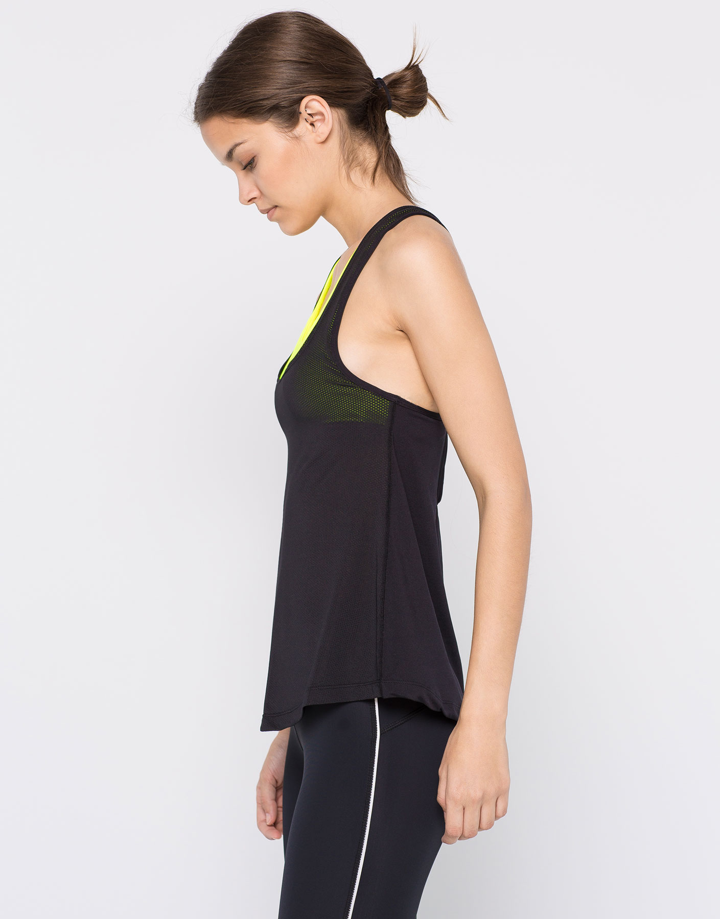 Built-in bra tank top