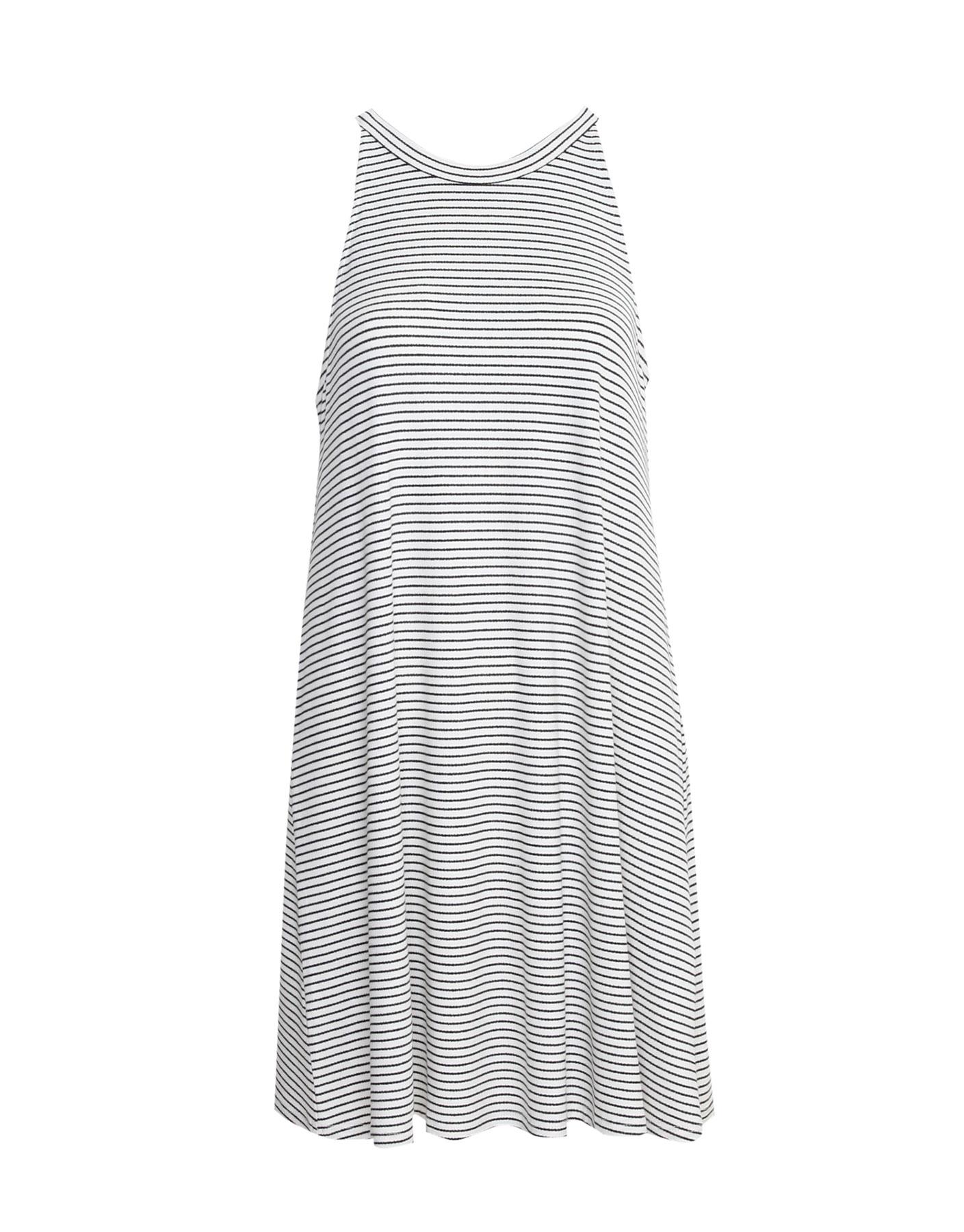 Sukienka z dekoltem halter Pull & Bear LODOWY