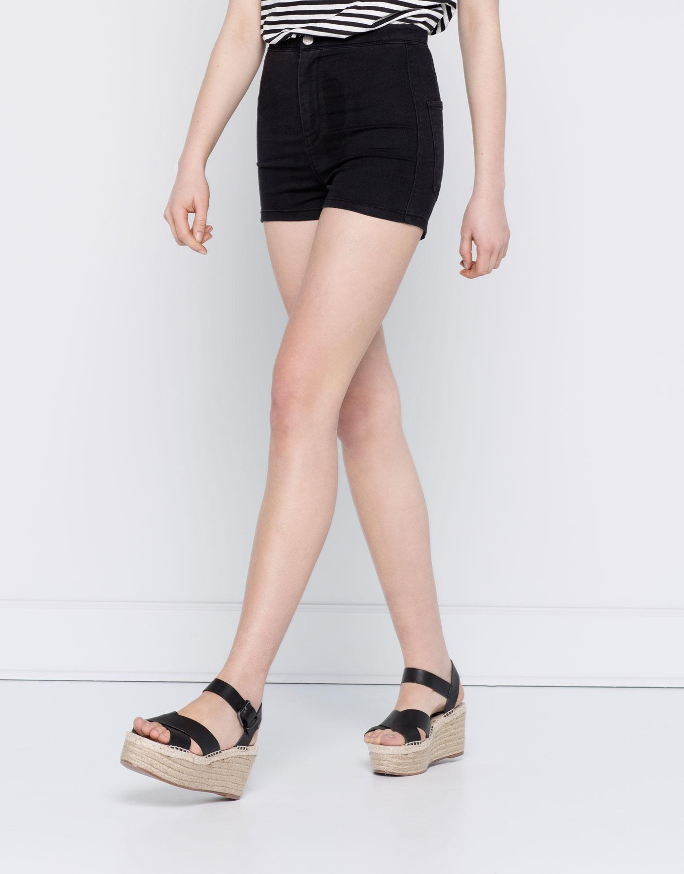 Short en jean basic