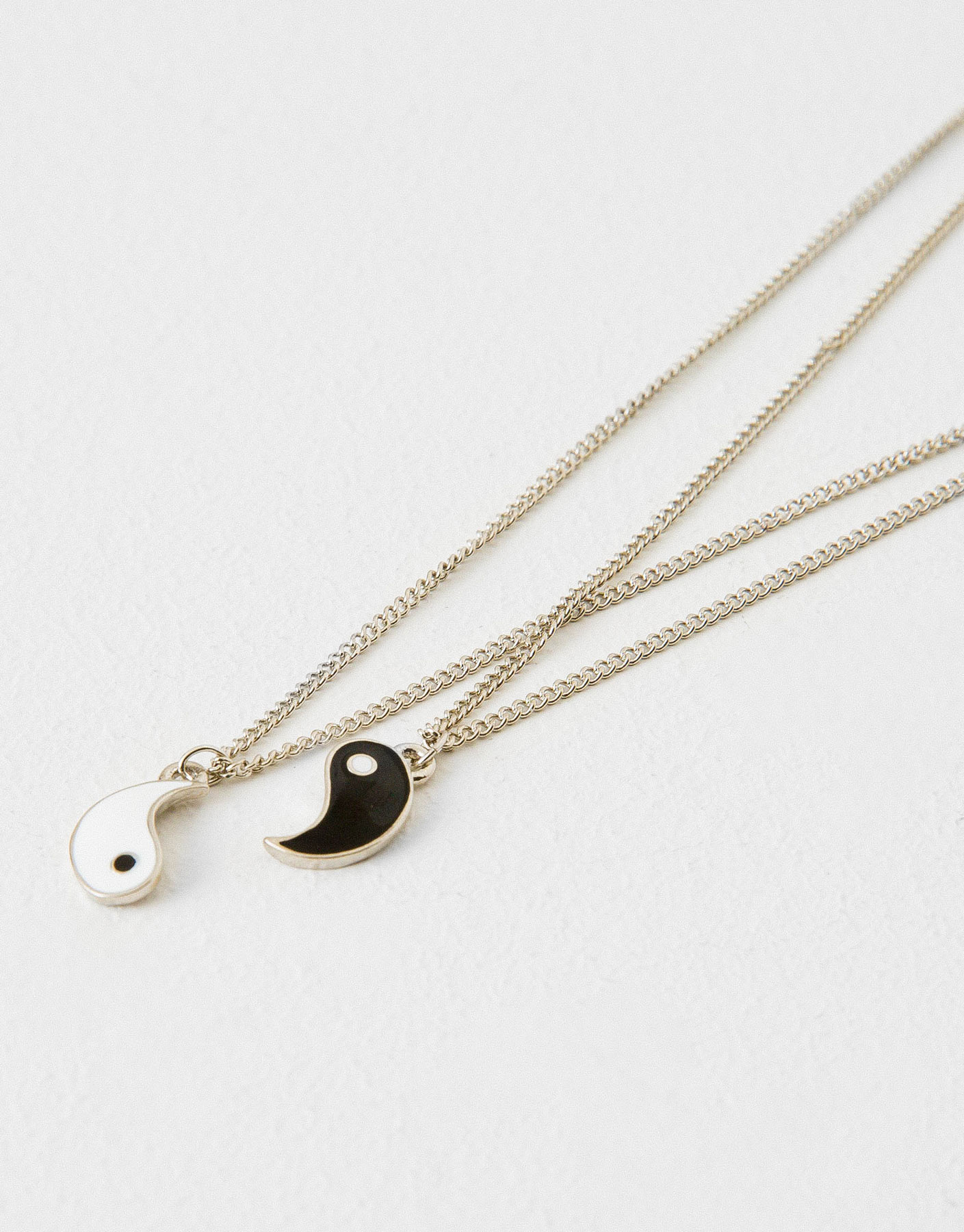 pack of yin and yang necklaces