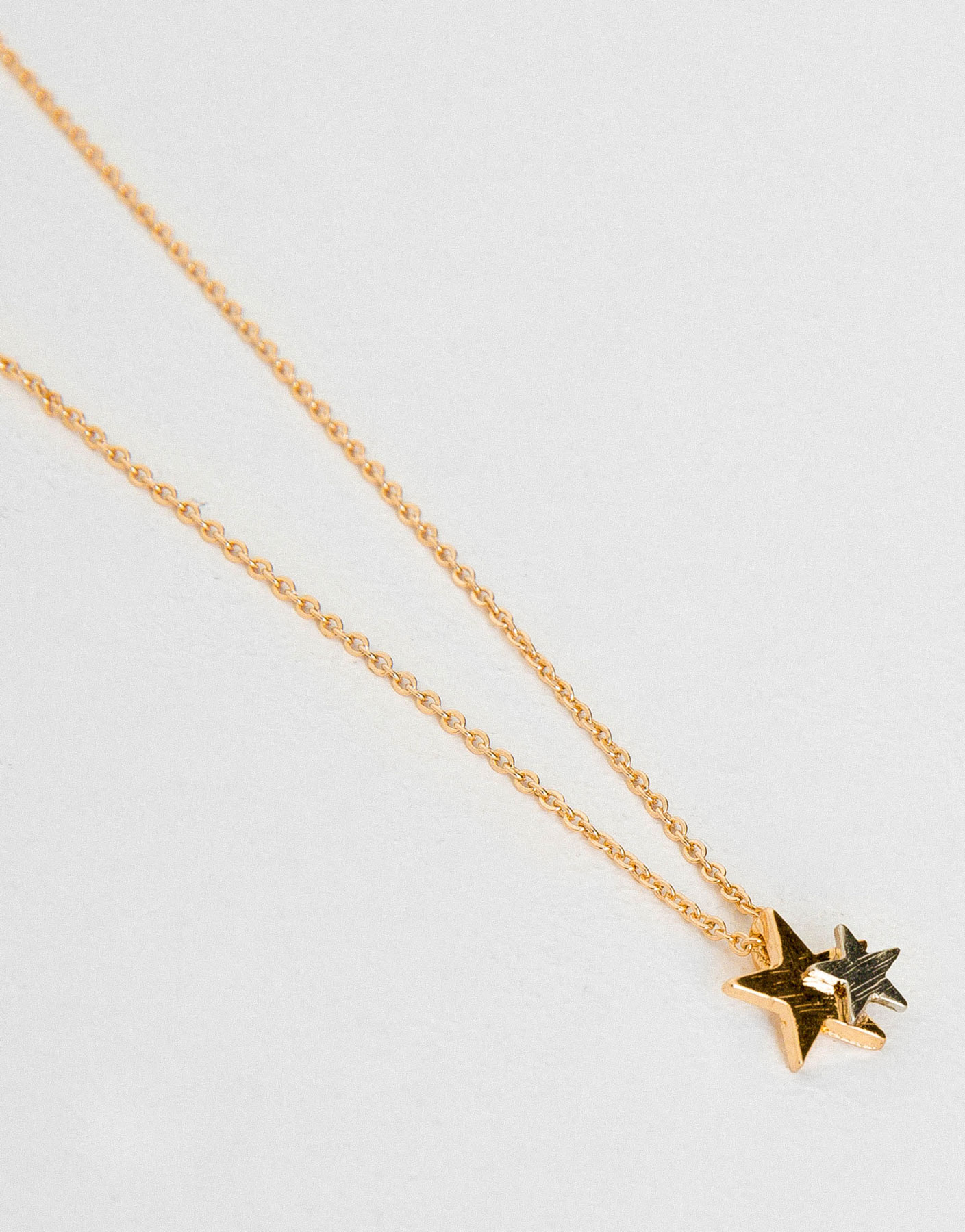 Thin stars necklace