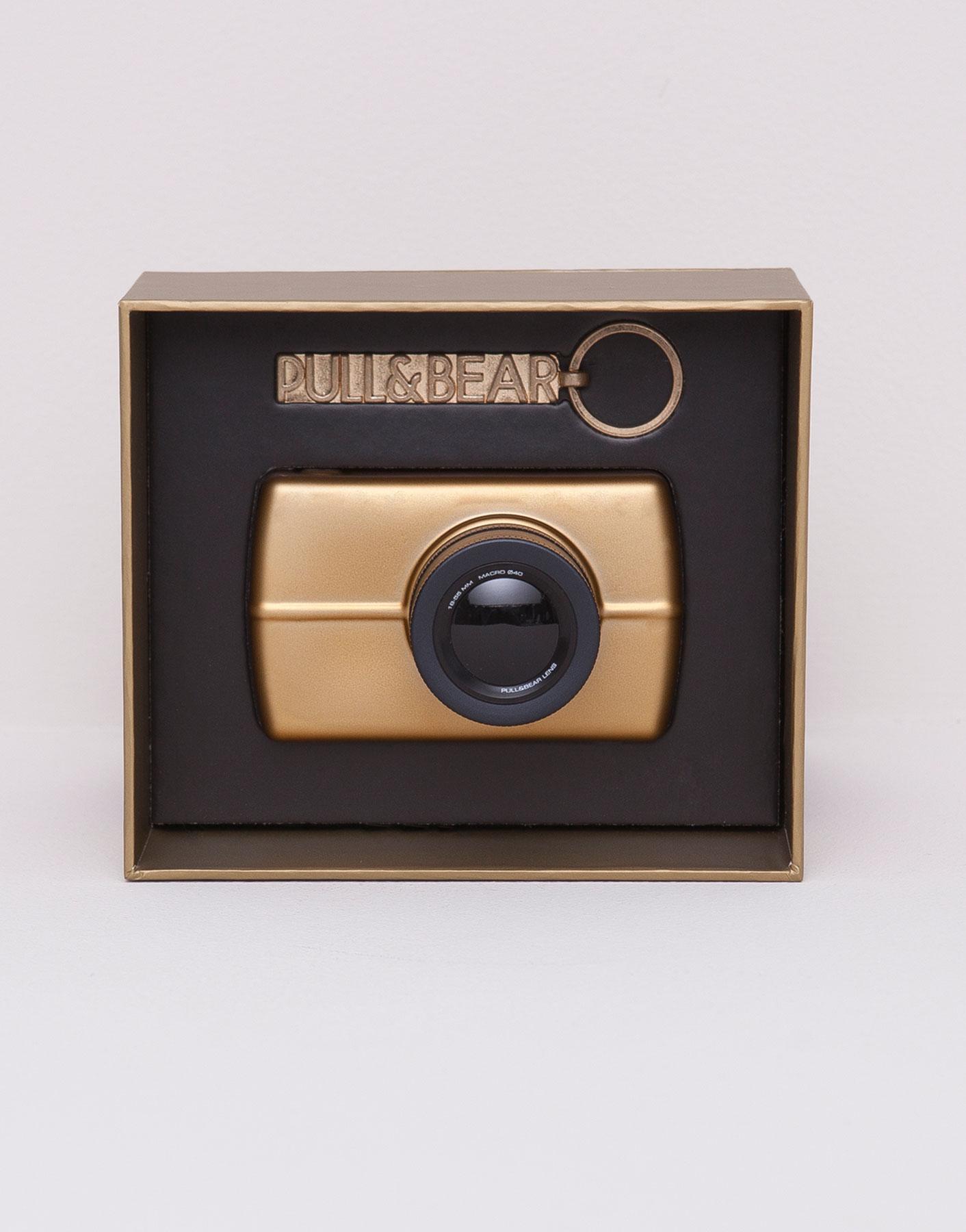 Pull & bear shot gold eau de cologne gift case