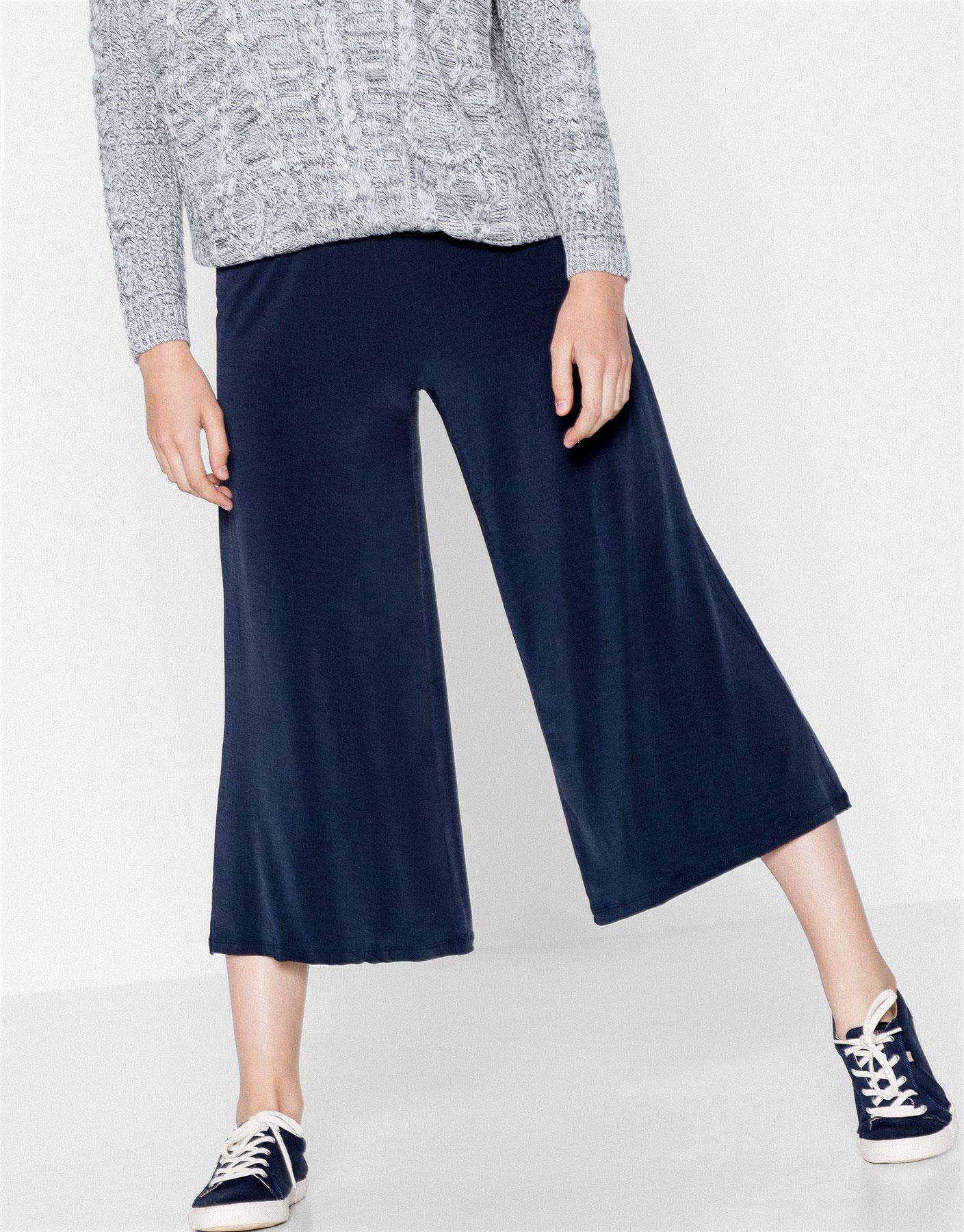 Shiny culottes