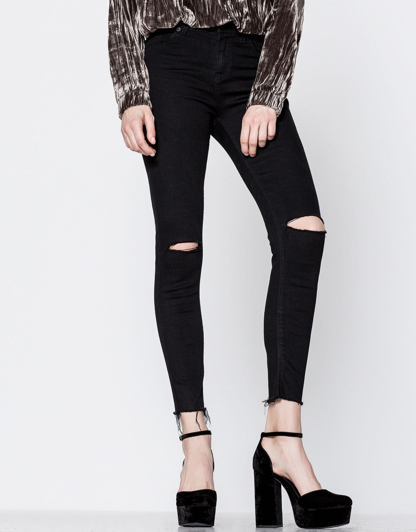 Basic capri fit jeans