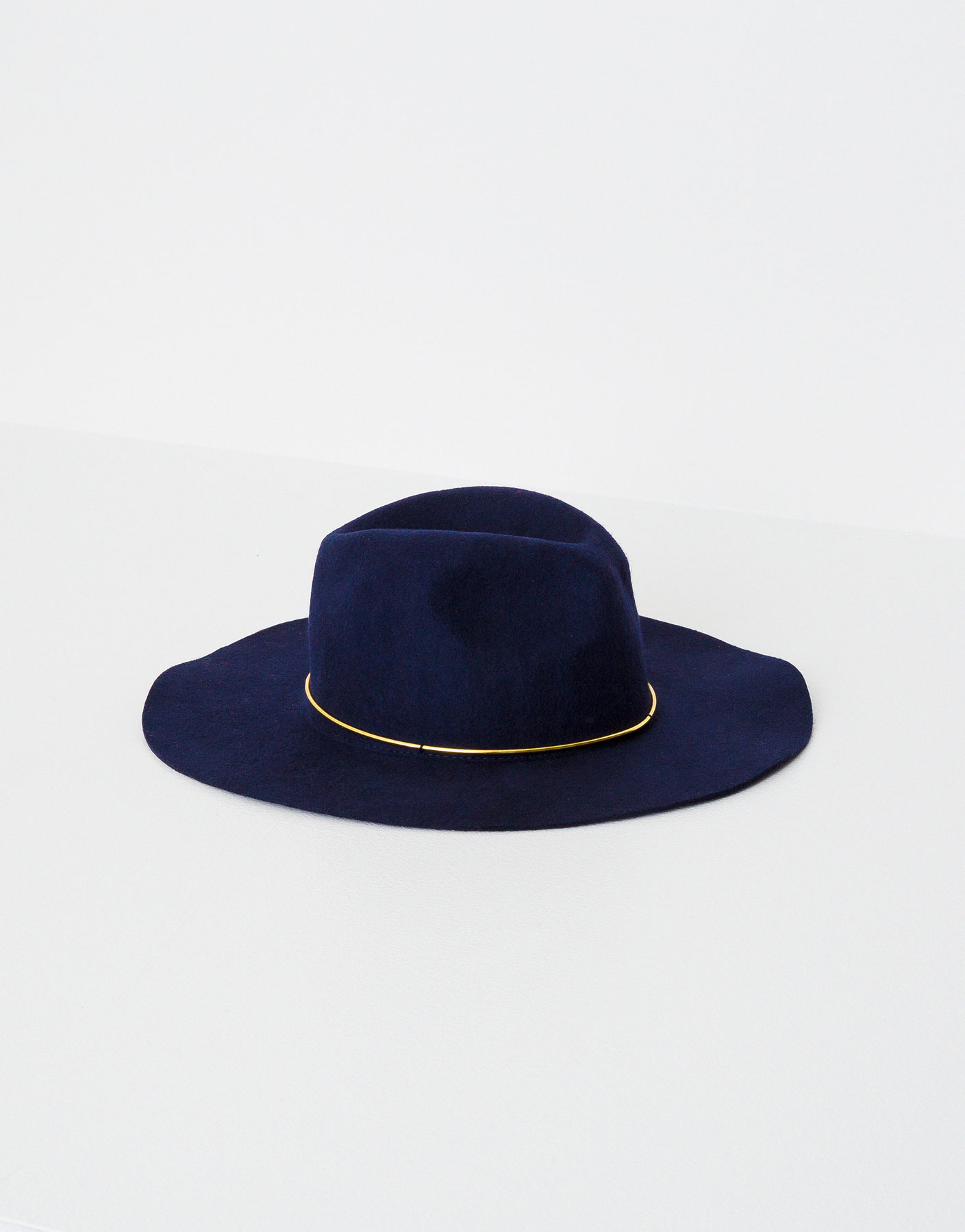 Hat with golden detail