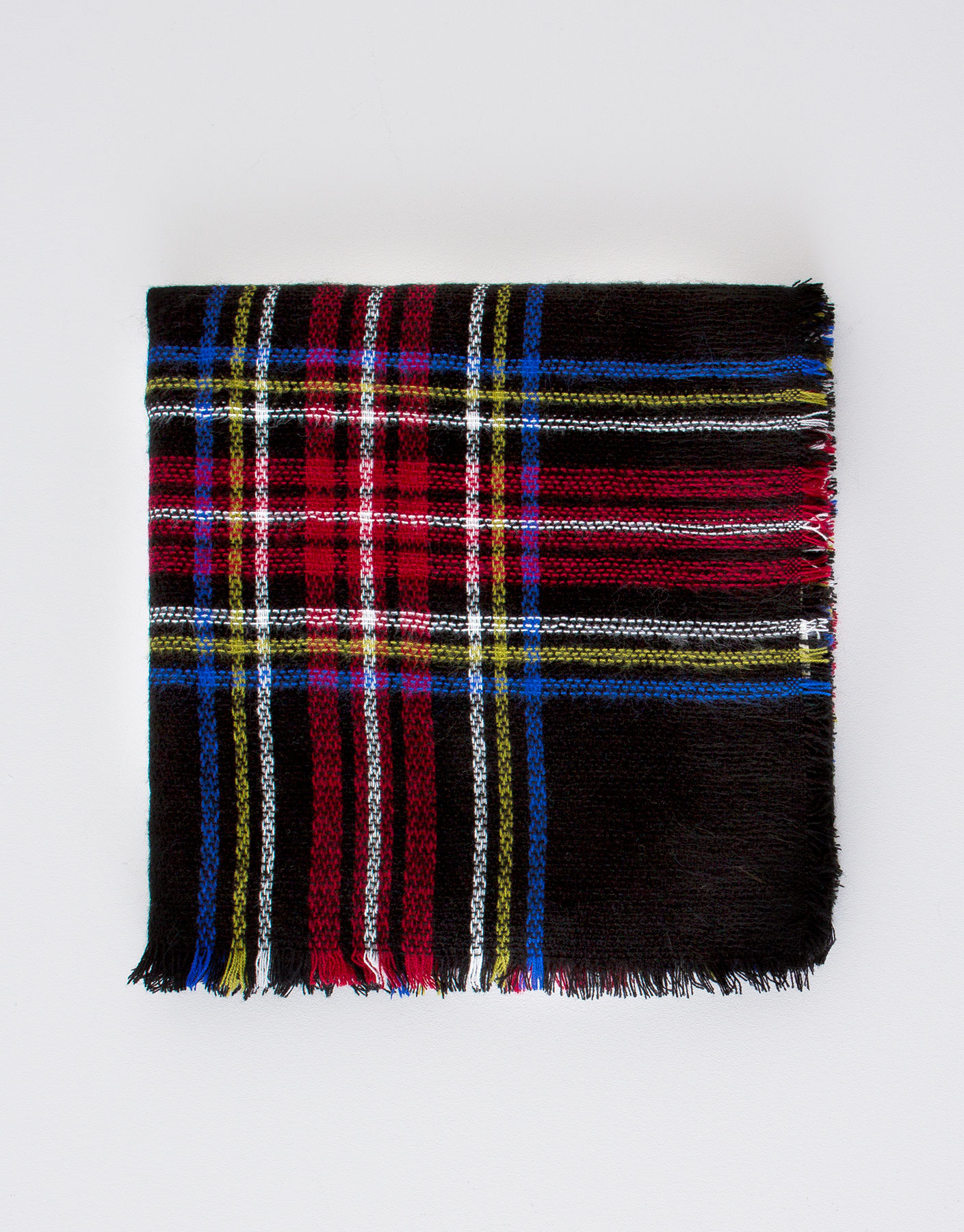 Checked foulard