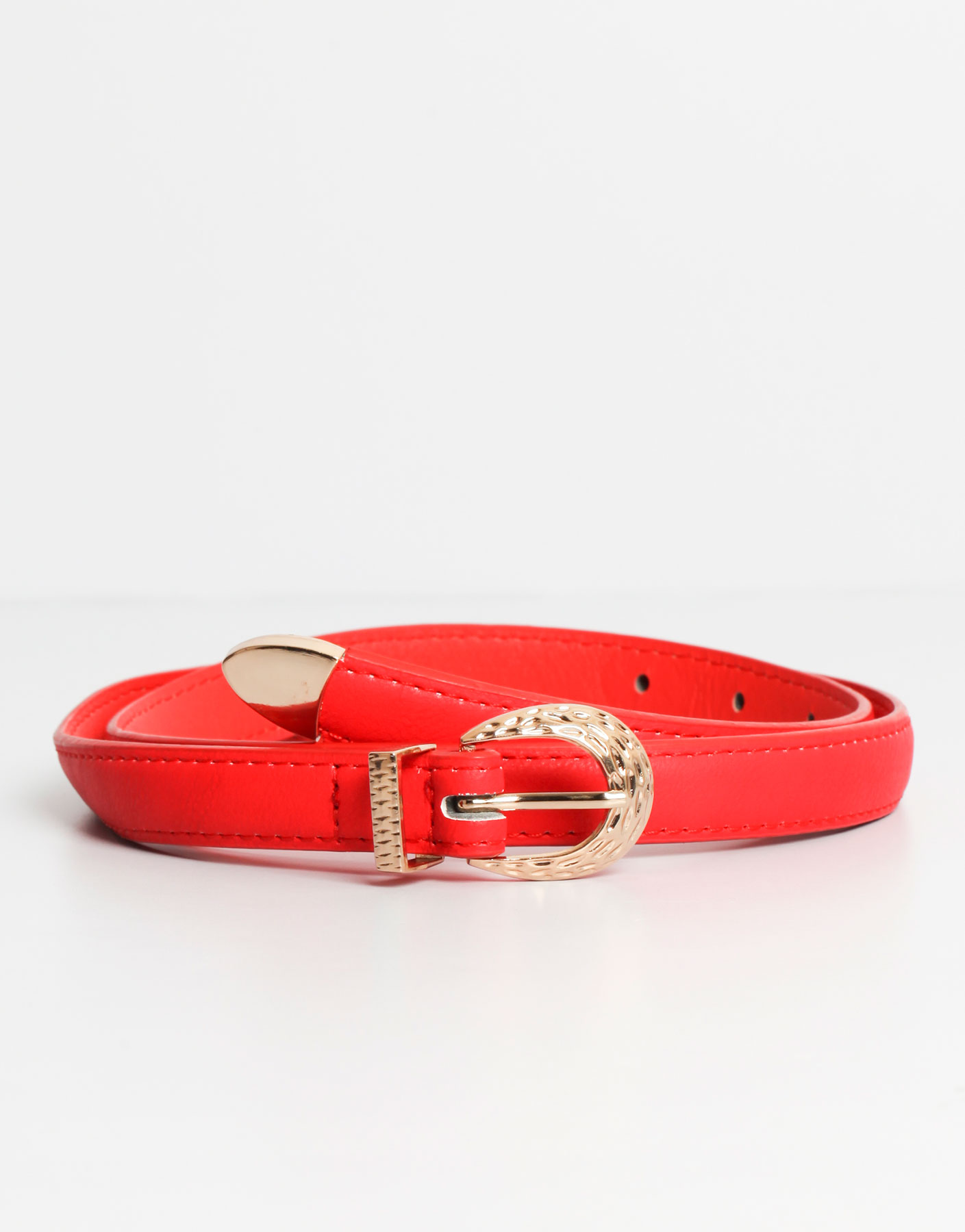 Red and gold belt