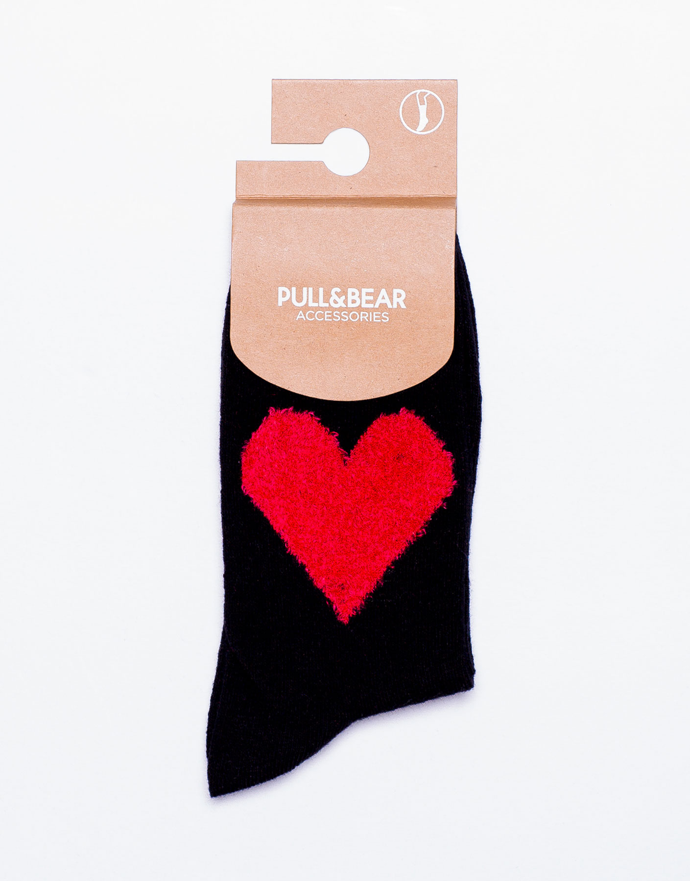 Long heart socks