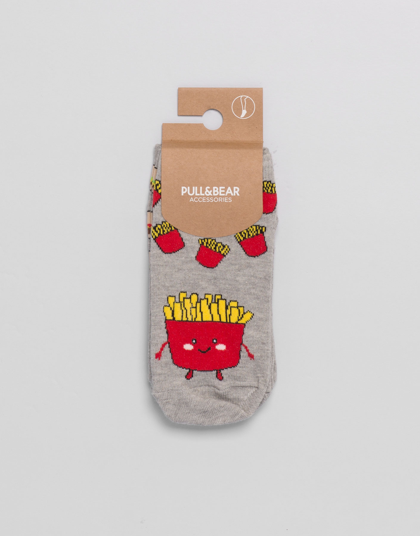 Burger socks (2-pack)