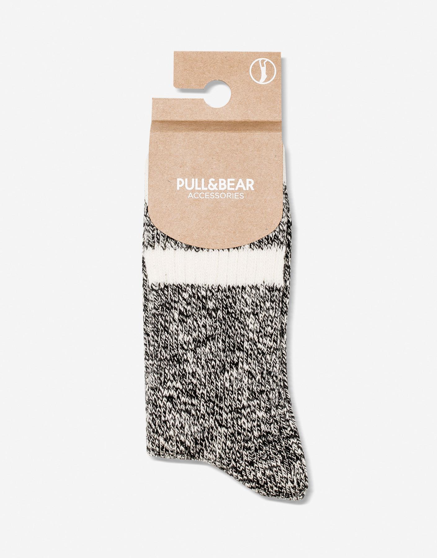 Flecked socks