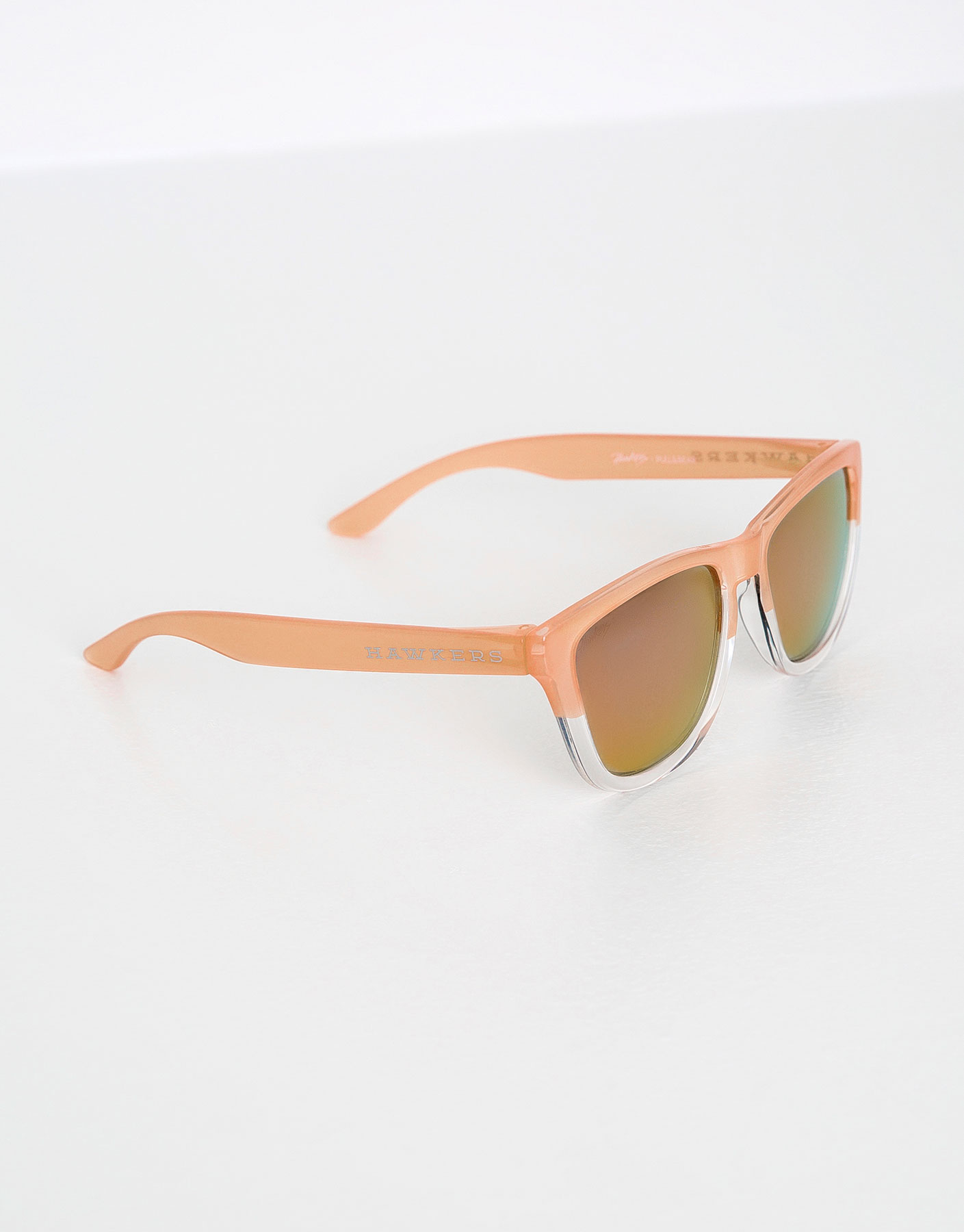 Hawkers hybrid rose gold one sunglasses
