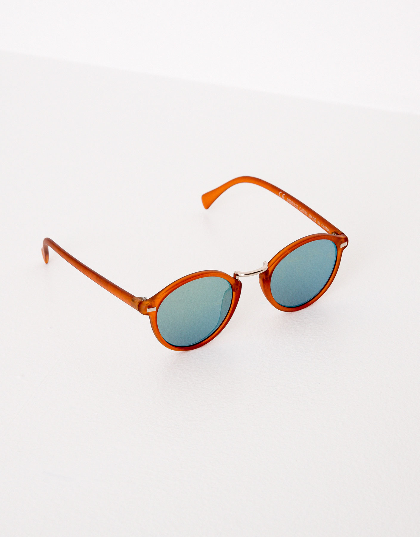 Toffee frame sunglasses