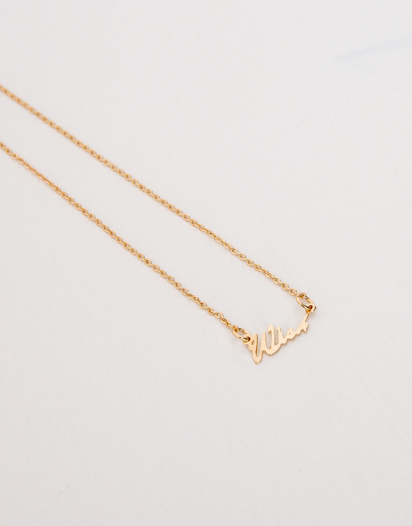 Fine wish necklace