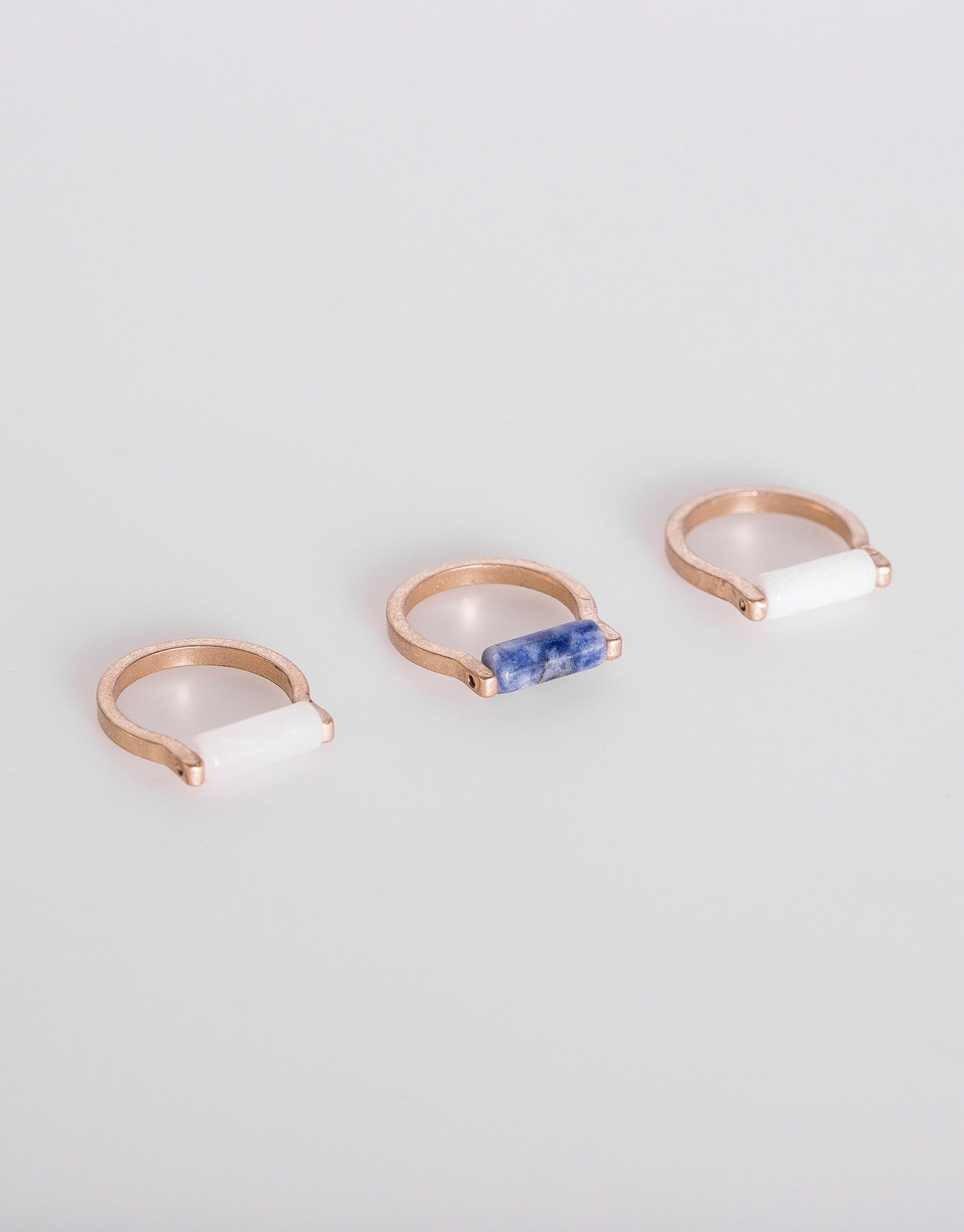Pack 3 anillos