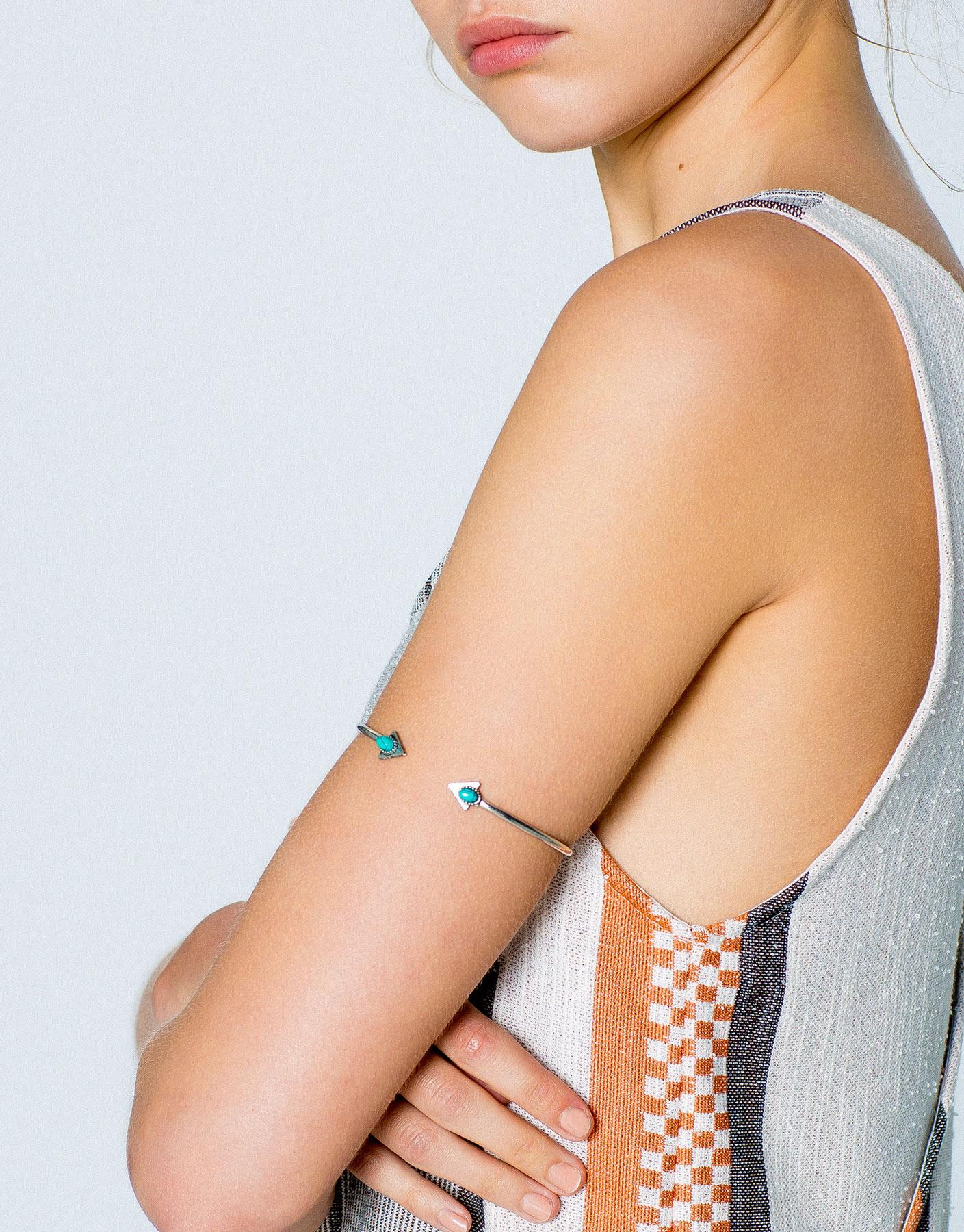 Turquoise stones armband