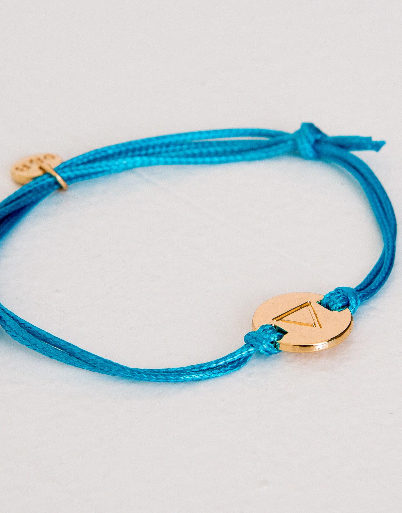 Zodiac water bracelet