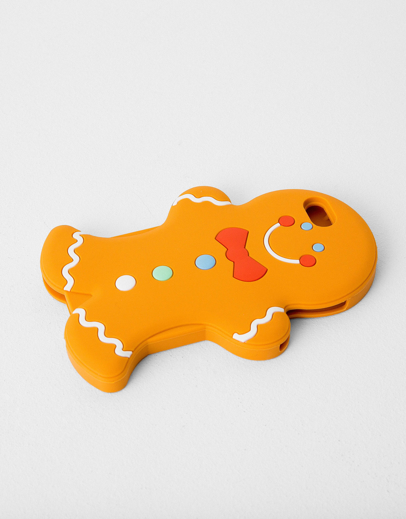 Gingerbread silicone case