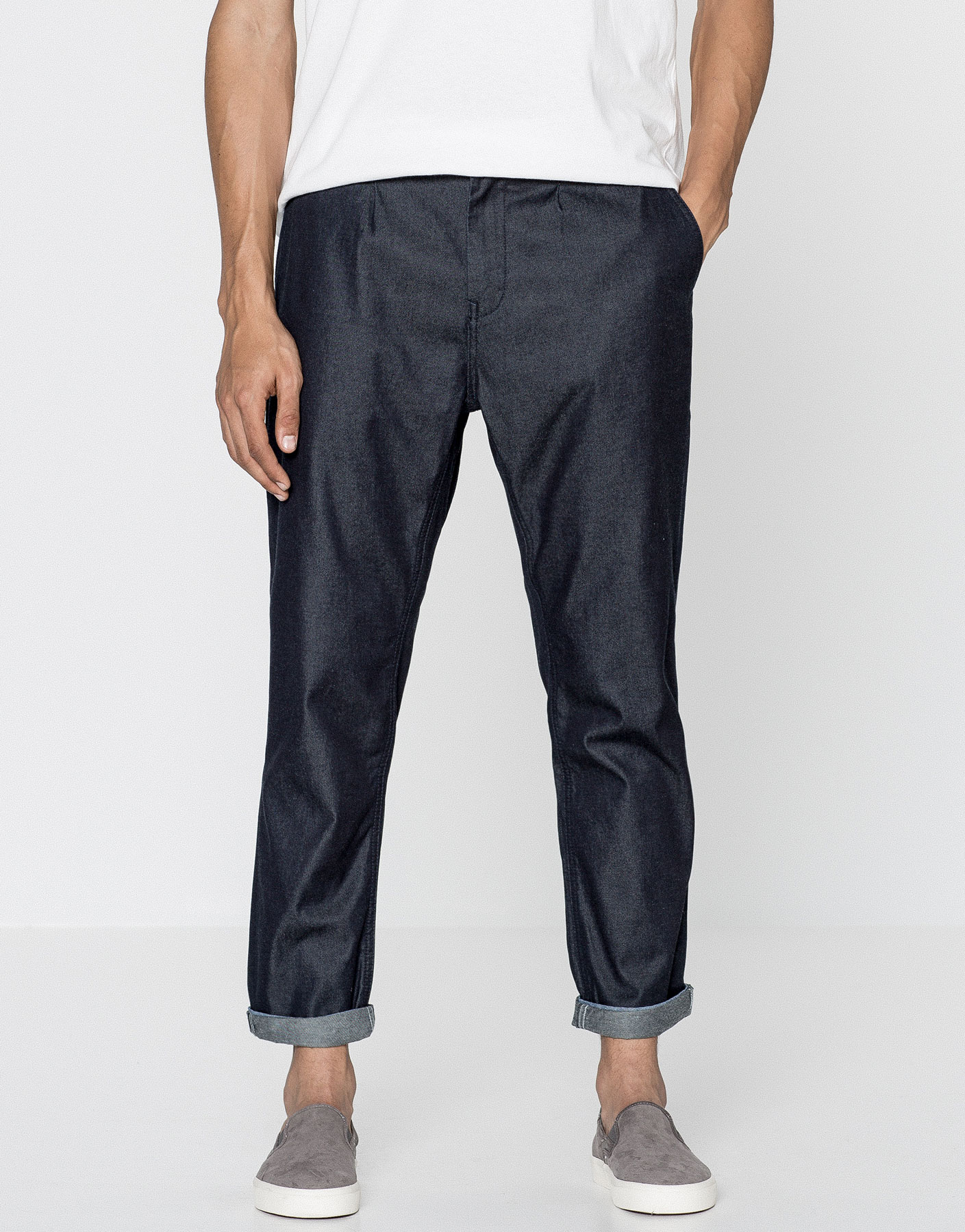 Chino-style jeans