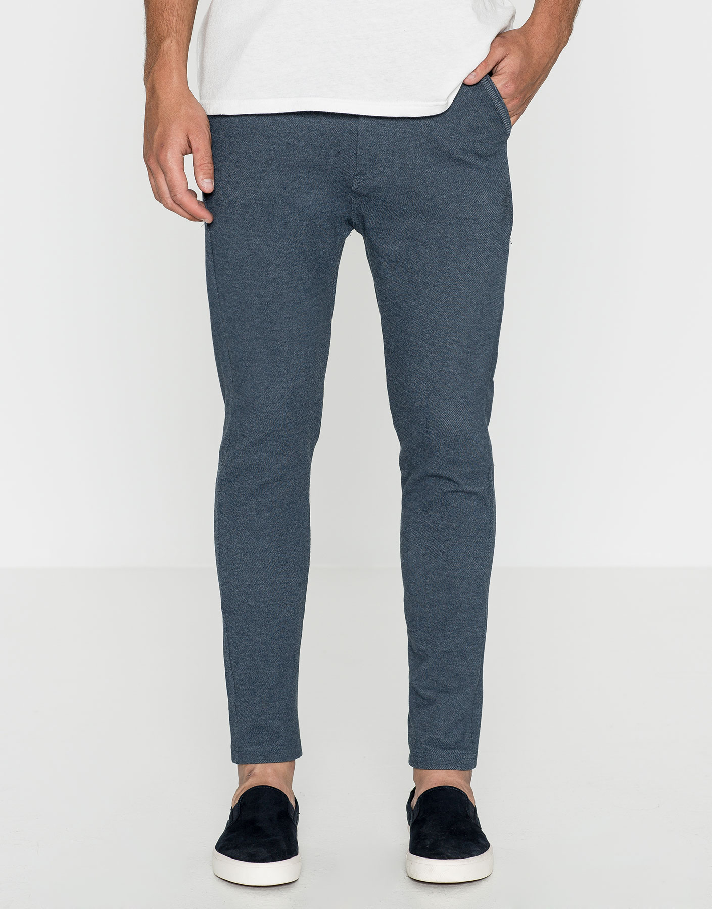 Pantalon jogging type chino