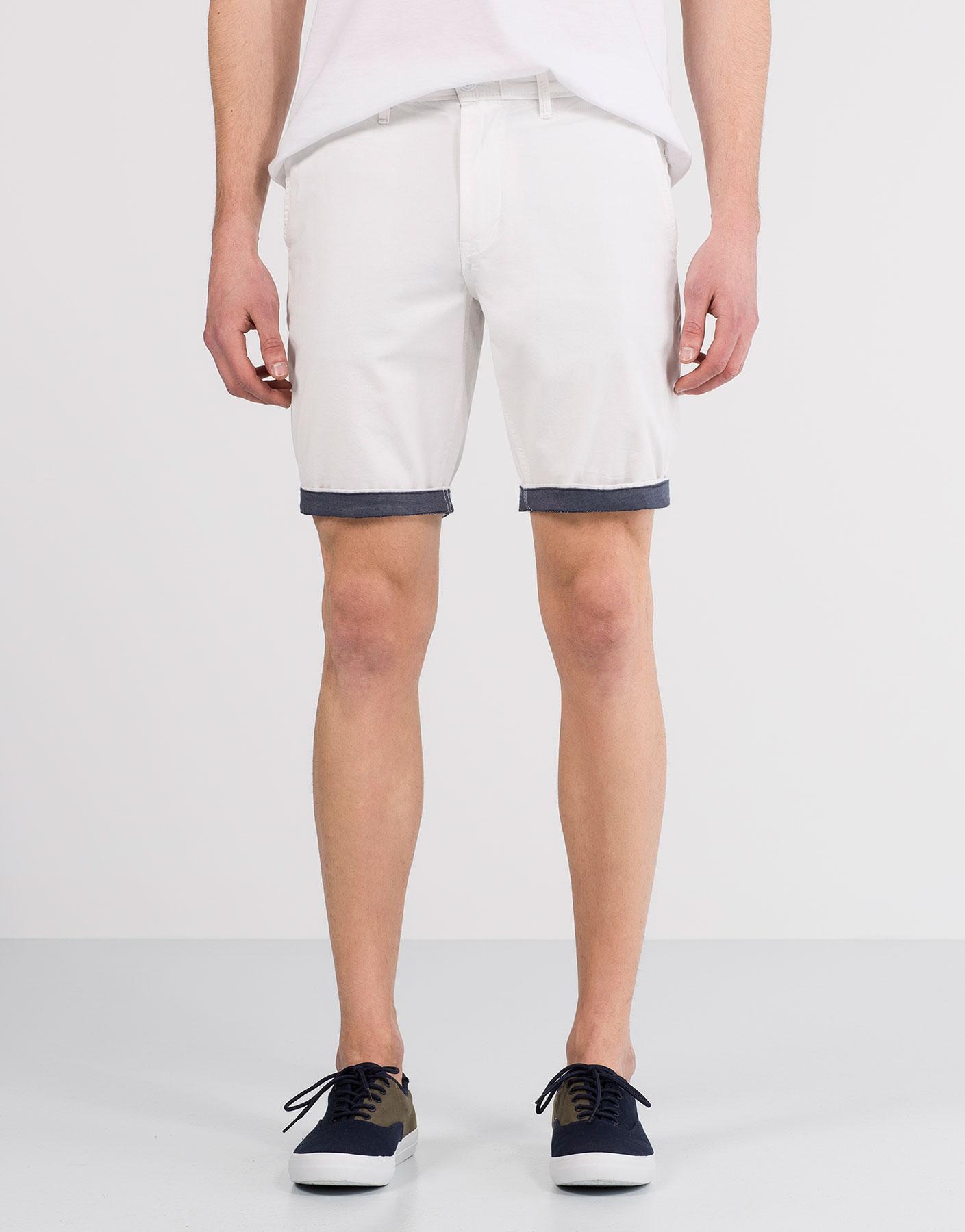 Chino style bermuda shorts