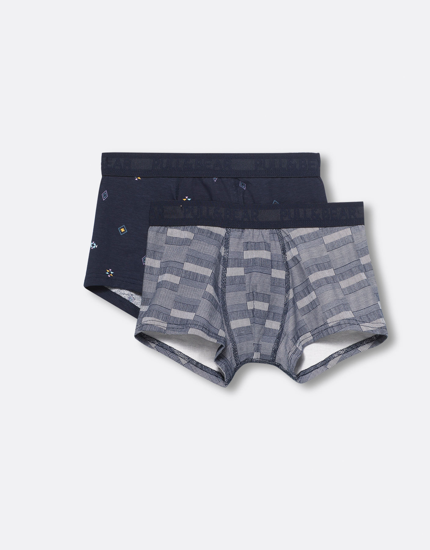 Boxer estampado (pack 2)