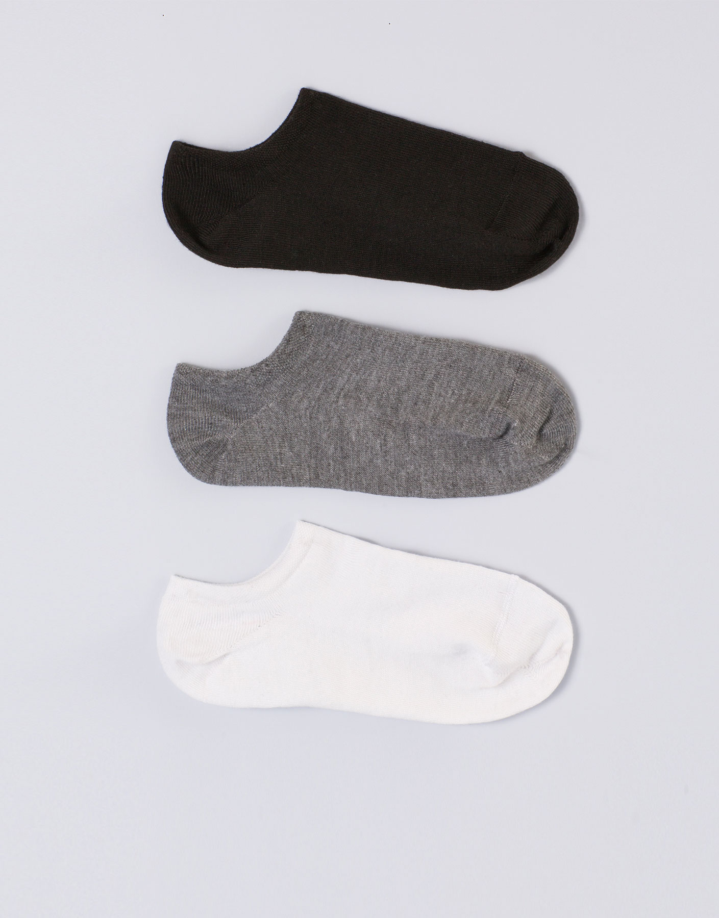Pack of 3 invisible socks