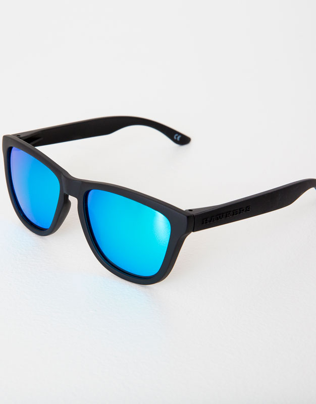 HAWKERS CARBON BLACK CLEAR BLUE ONE SUNGLASSES - MAN - HAWKERS X PULL ...