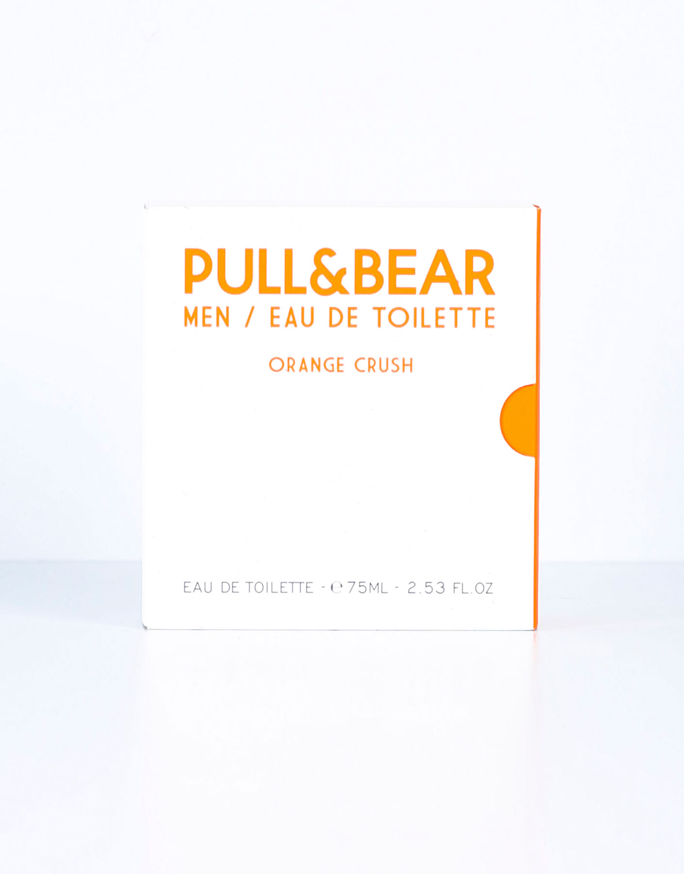 Eau de toilette pull & bear orange crush 75 ml