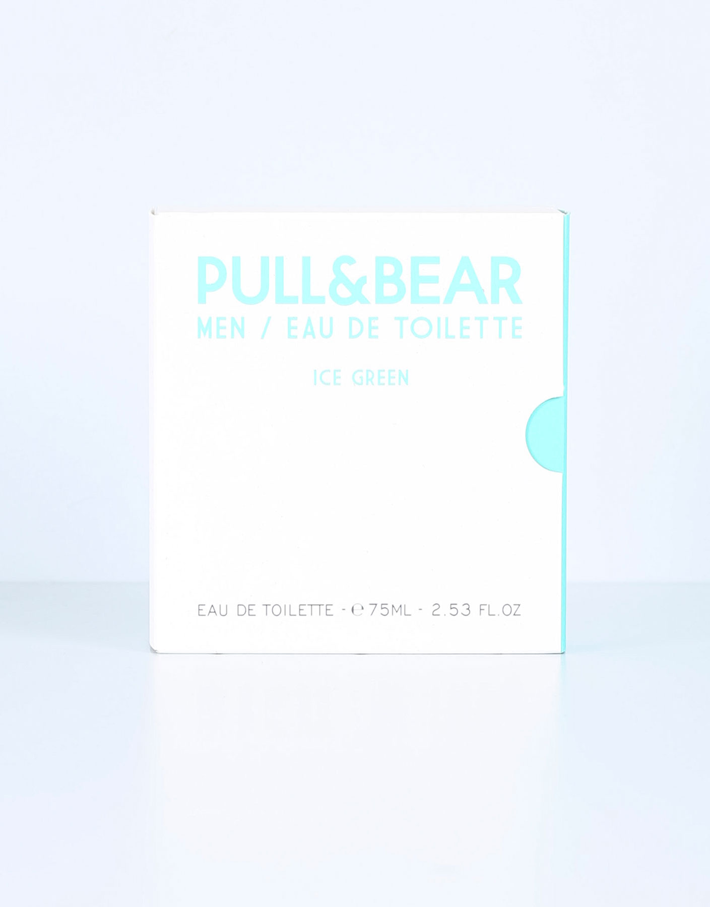 Eau de toilette pull & bear ice green 75 ml
