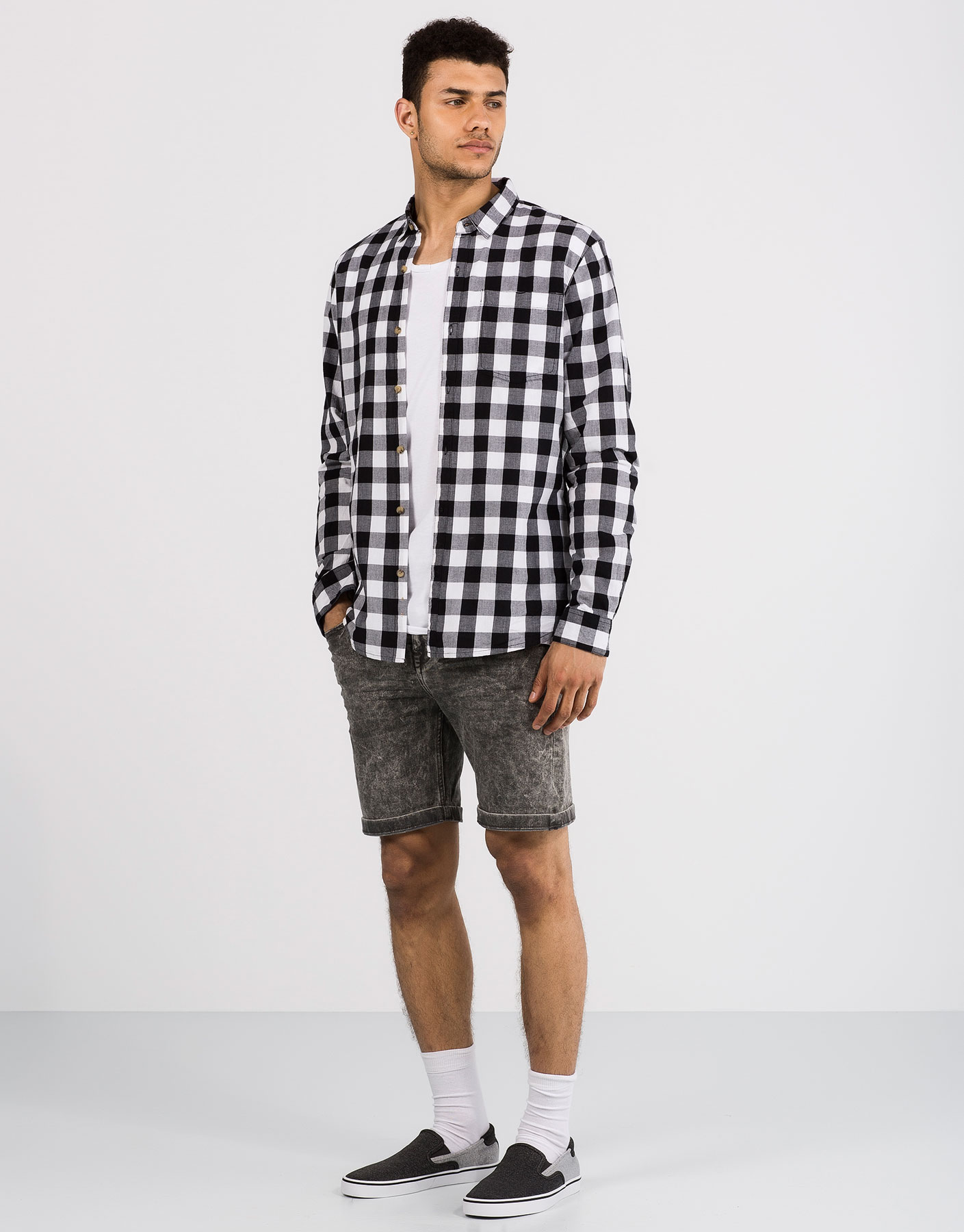 Basic chequered shirt