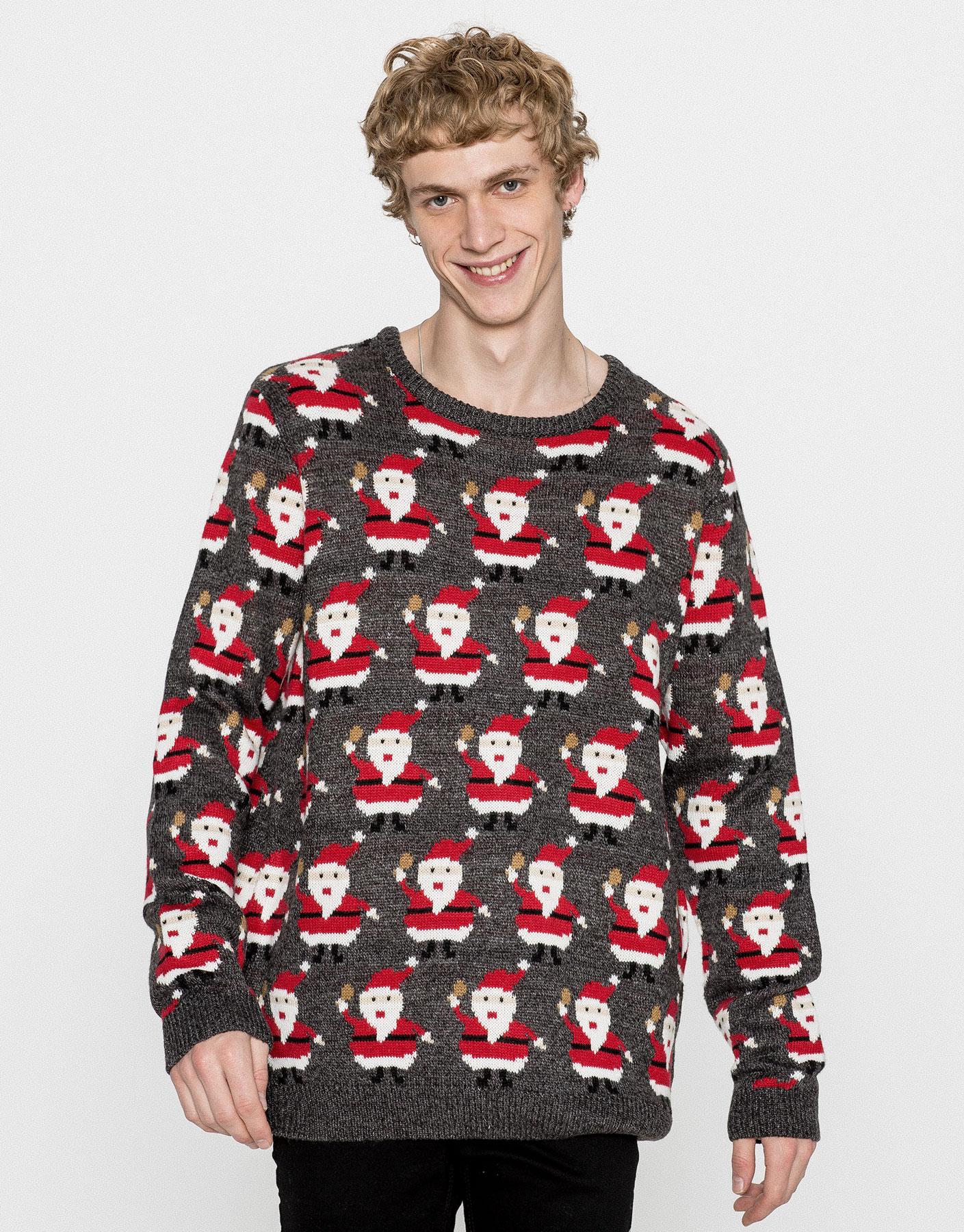 Mini Santa Claus Christmas sweater