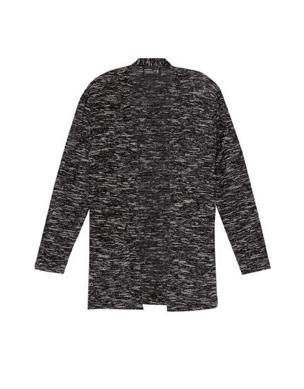 Open cutwork jacket