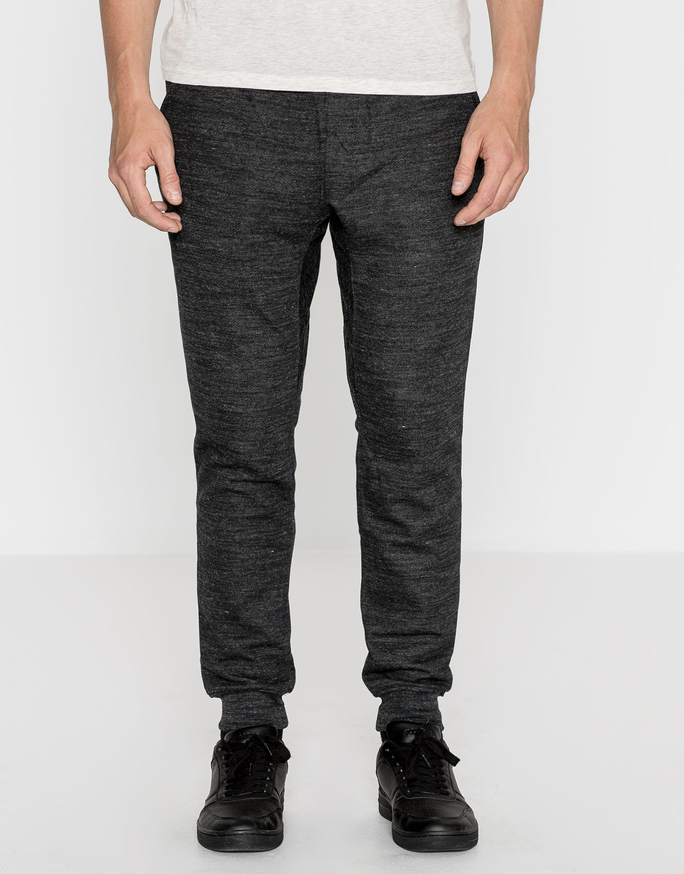 Skinny fit jogging trousers