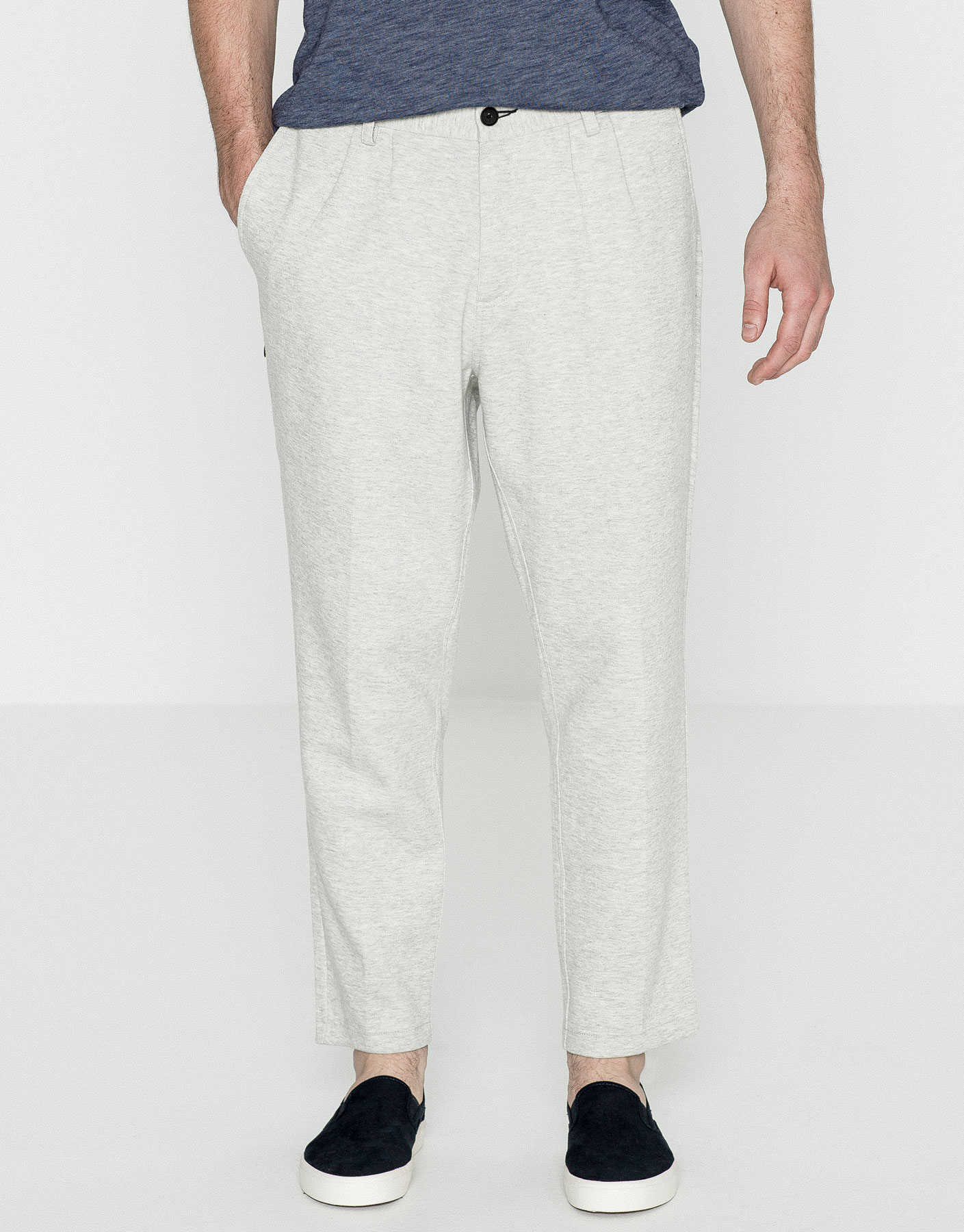 Chino style jogging trousers