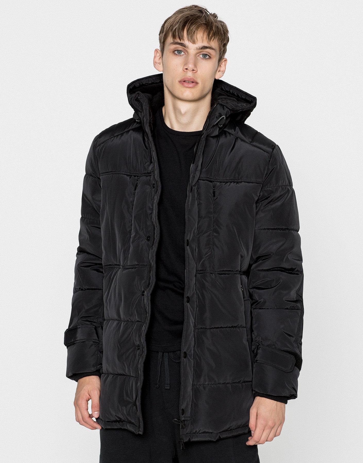 men 39 s coats and jackets winter sale pull bear. Black Bedroom Furniture Sets. Home Design Ideas