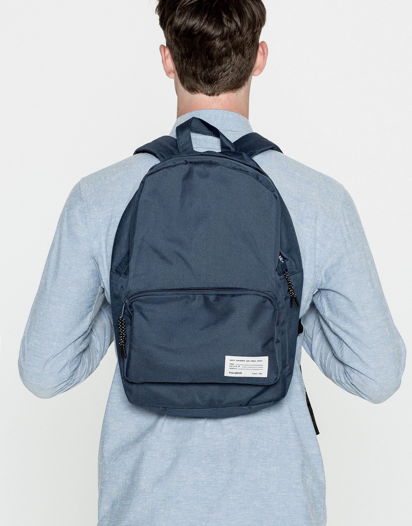 Basic colourful backpack