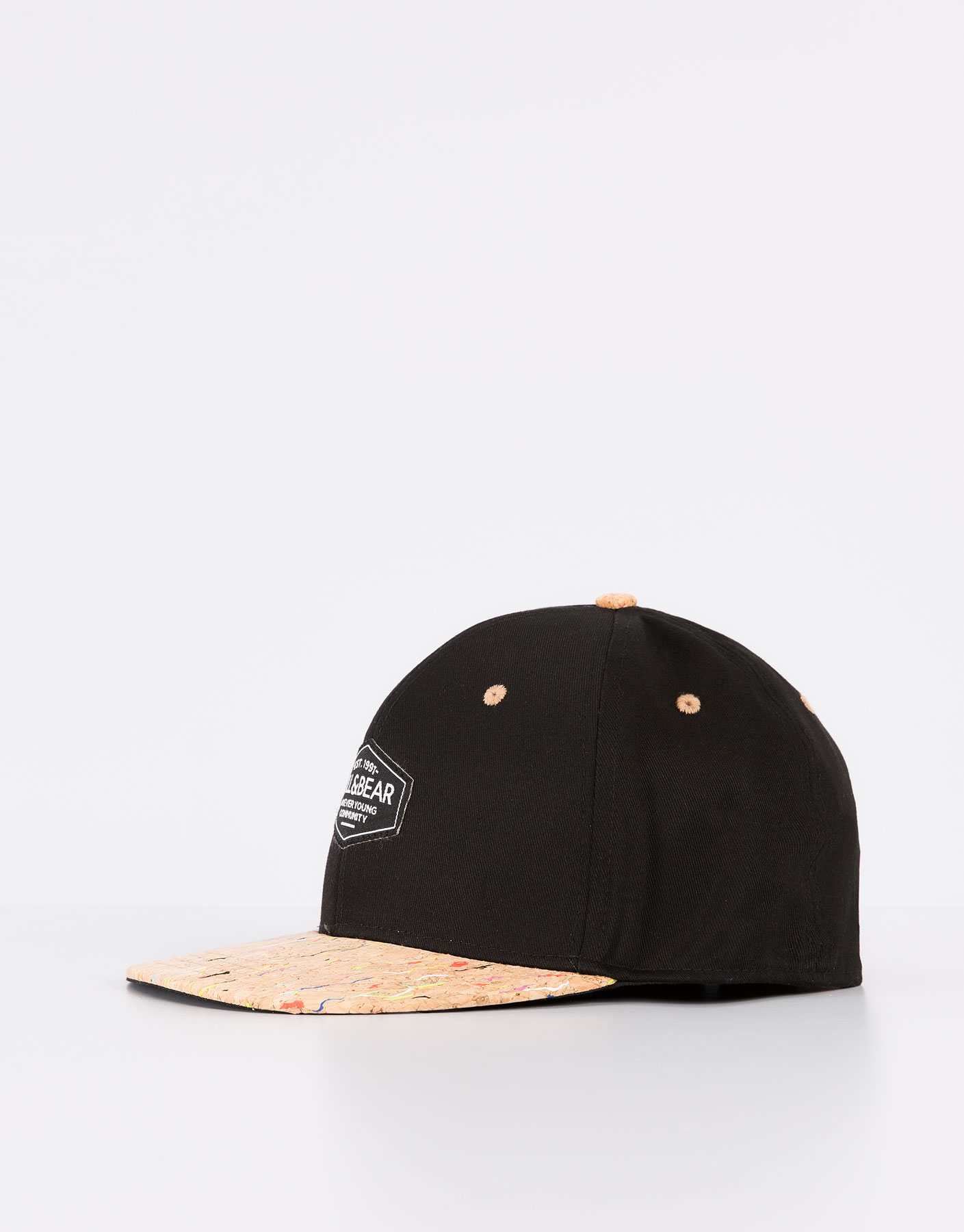 Panels cap with cork visor