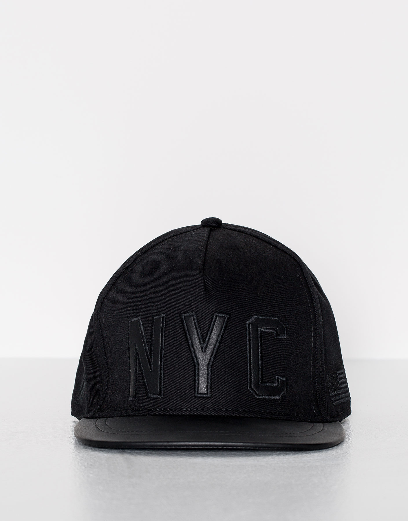 Black new york city cap