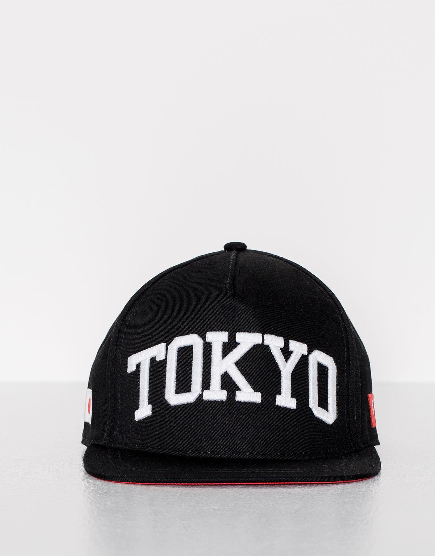 Gorra negra tokyo