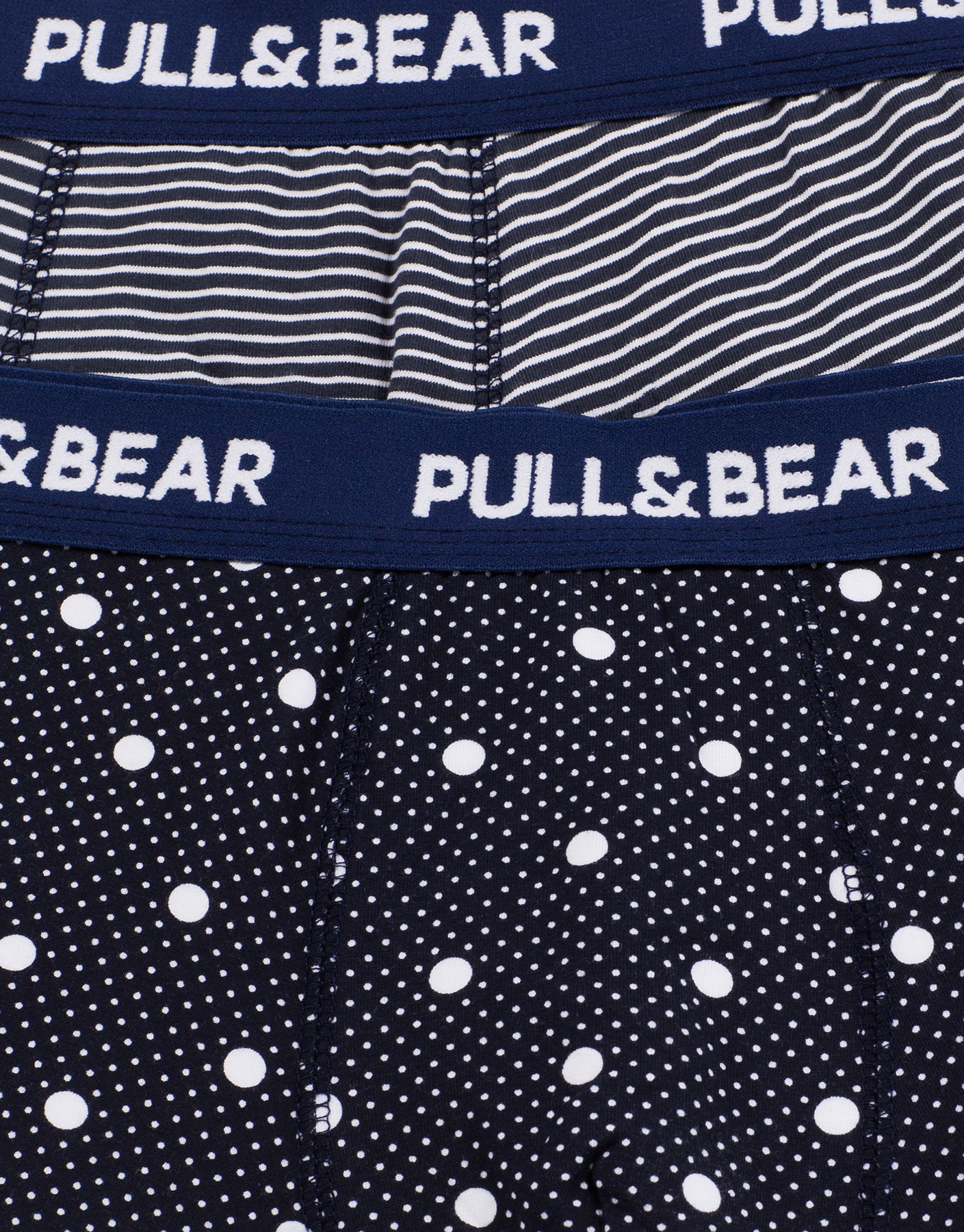 Polka dots and stripes boxer shorts (2-pack)