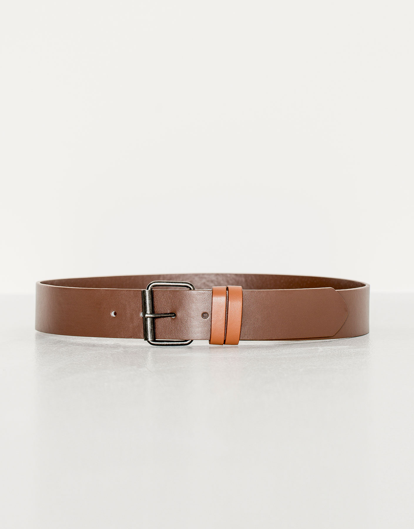 Double belt loop belt