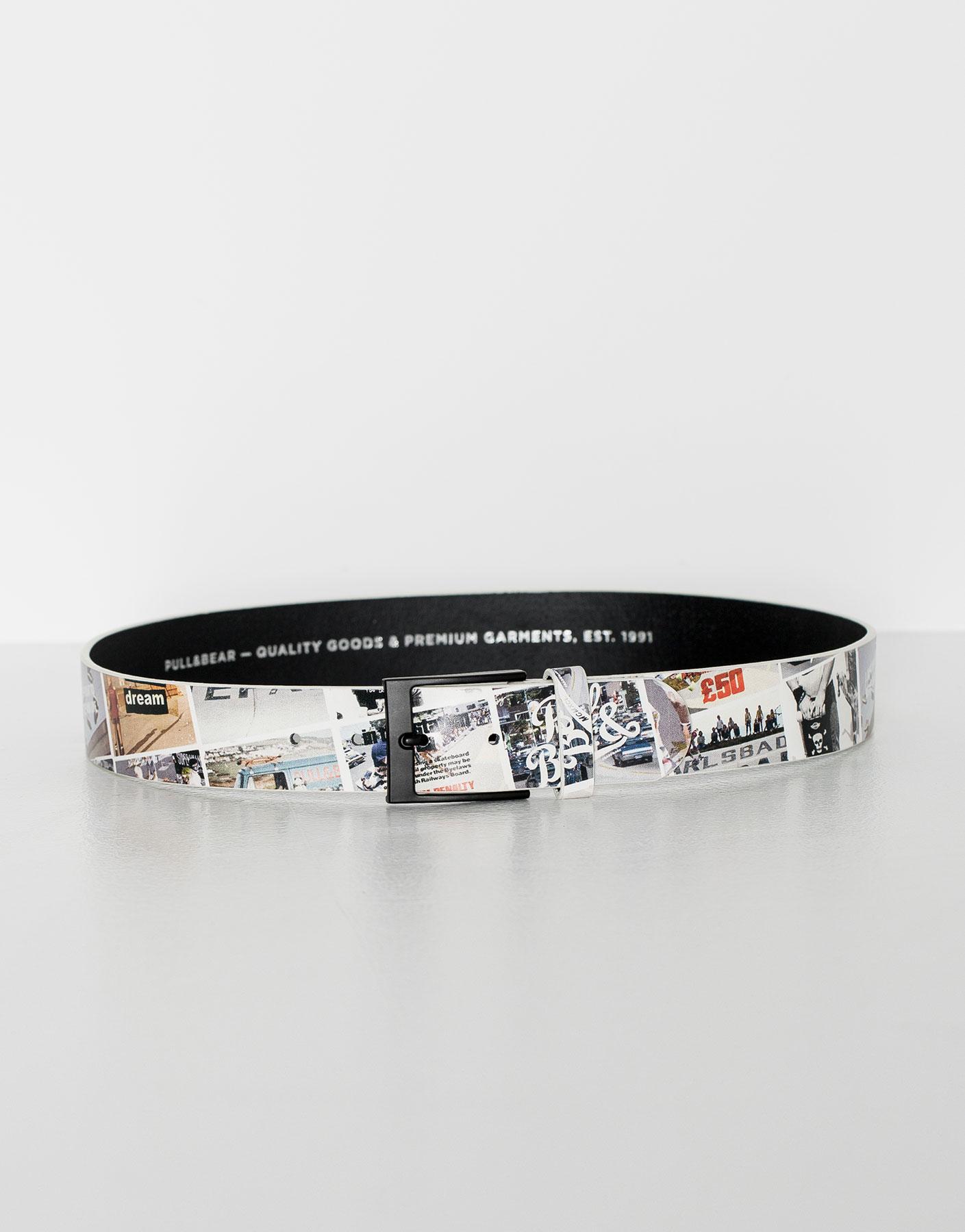 Summer print belt