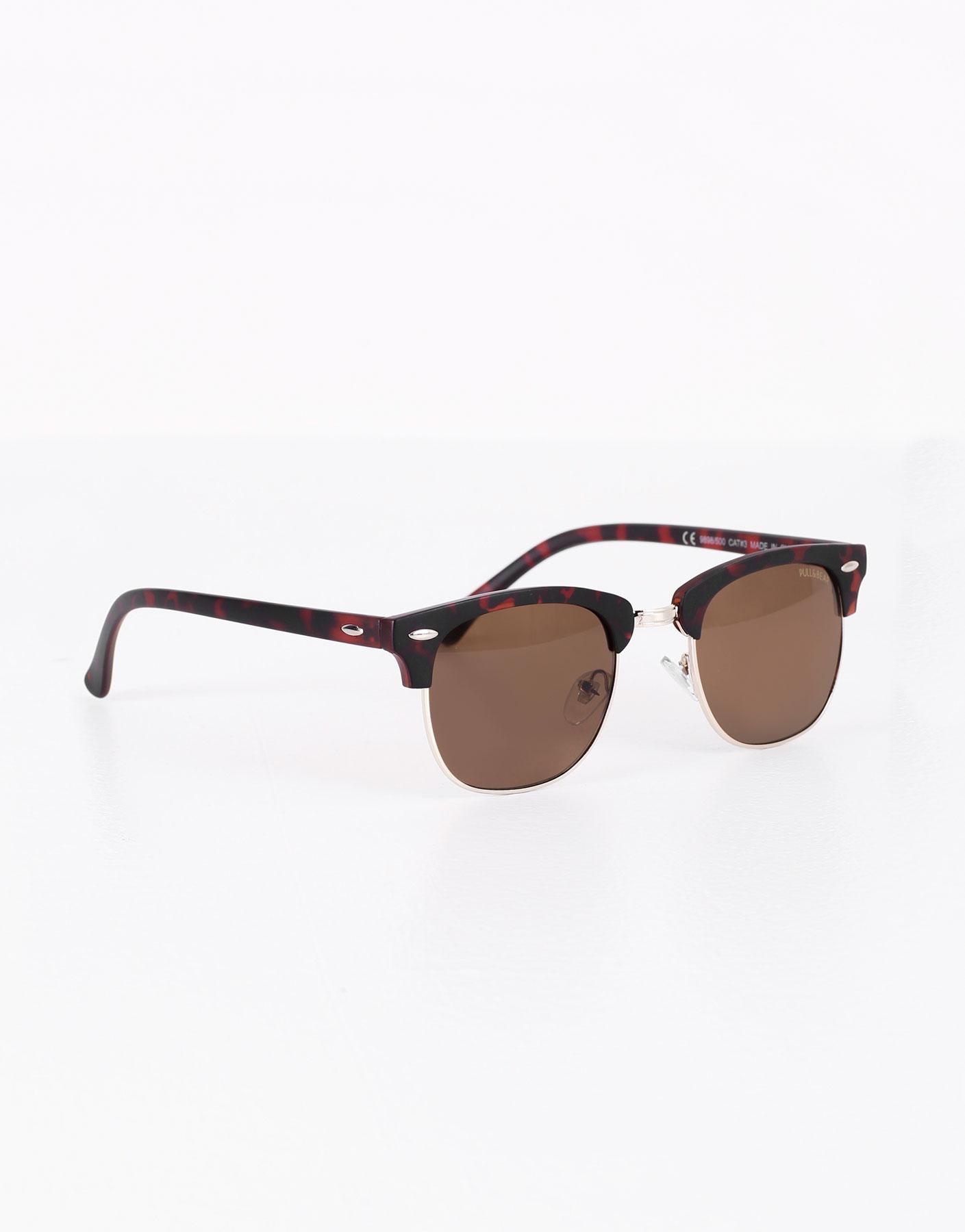 Sonnenbrille aus schildpattimitat