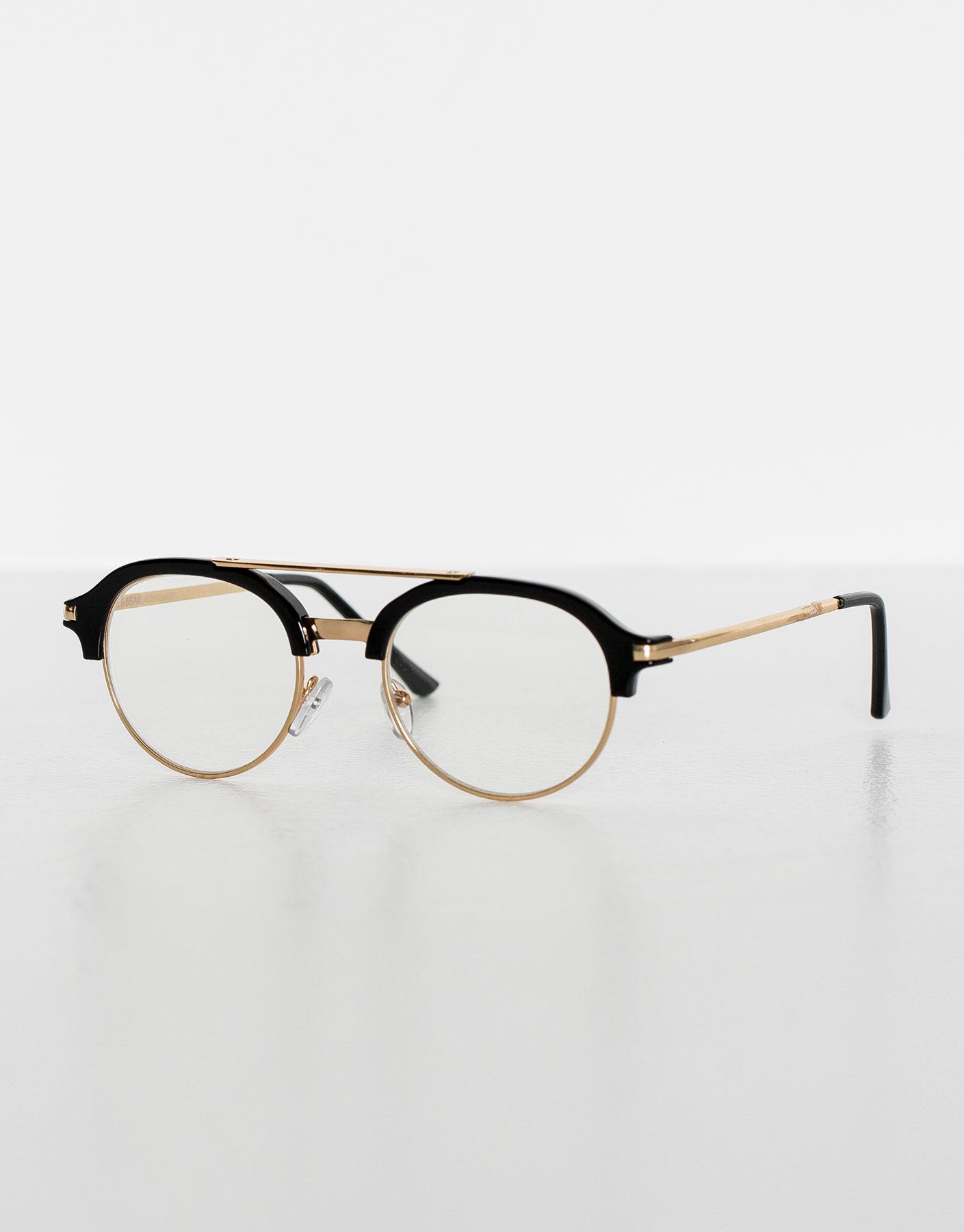 Gafa lentes transparentes