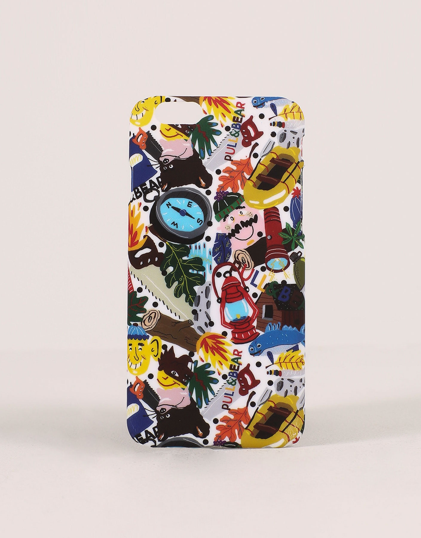 Scout print mobile cover
