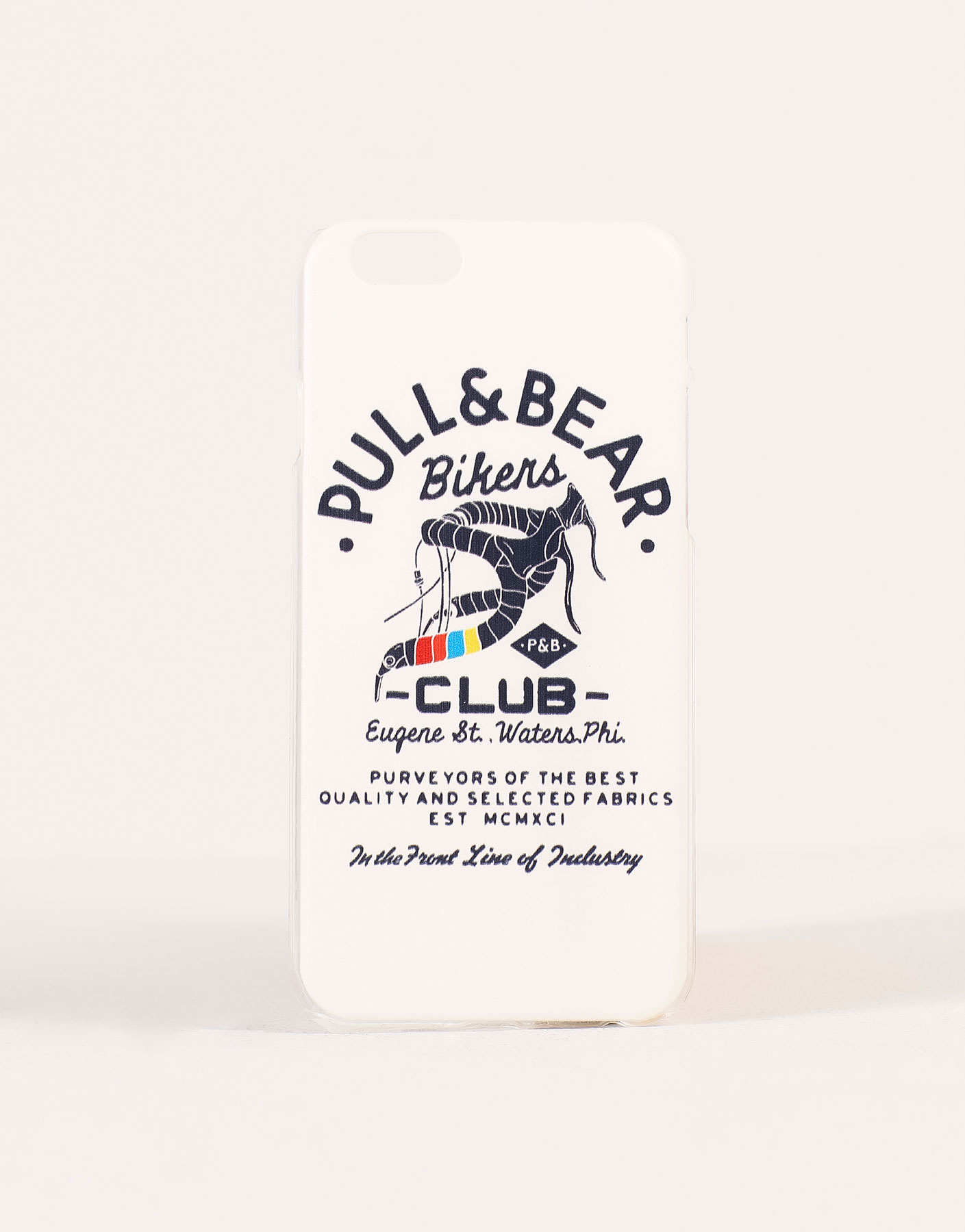 Bikers club mobile cover